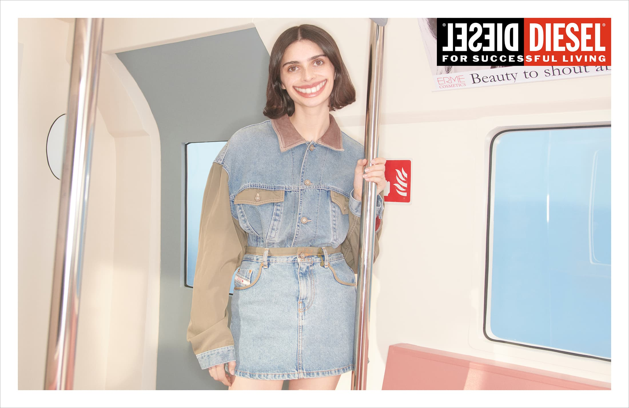 Diesel Spring 2021 Ad Campaign Photos