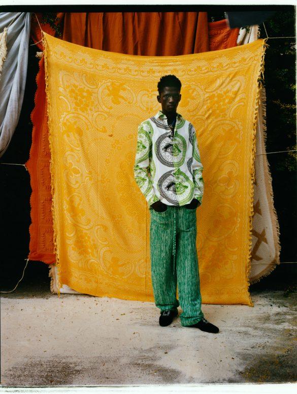 Kenneth Ize Fall 2021 Fashion Show