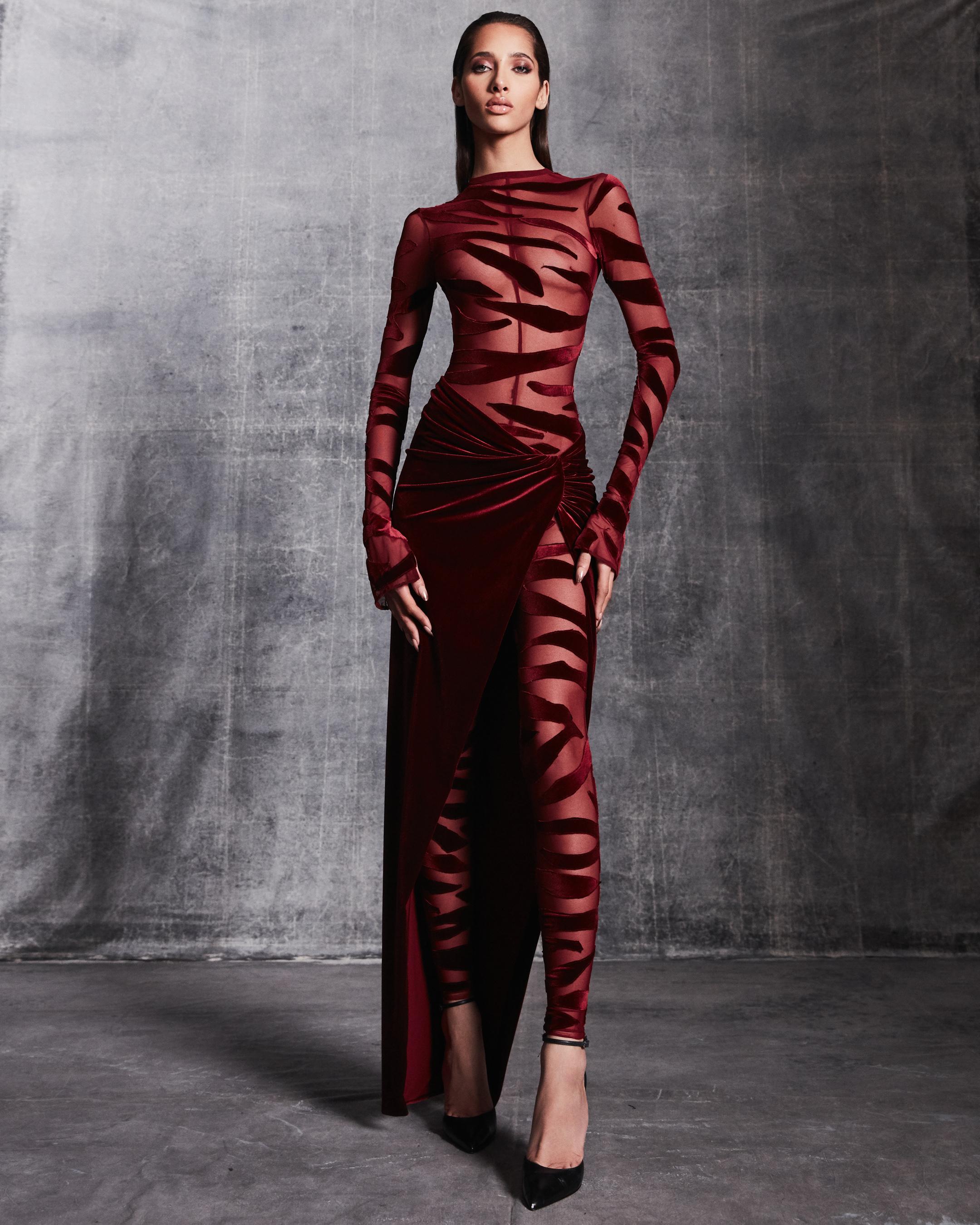 Laquan Smith Fall 2021 Fashion Show