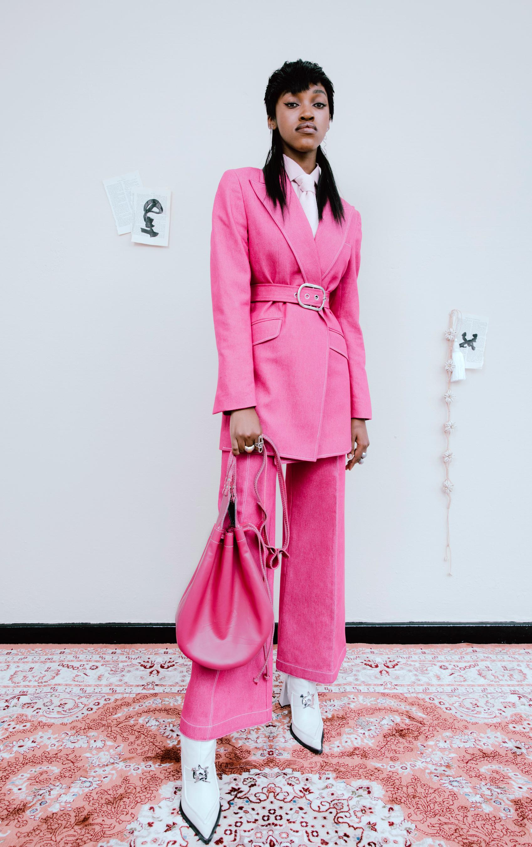Thebe Magugu Fall 2021 Fashion Show