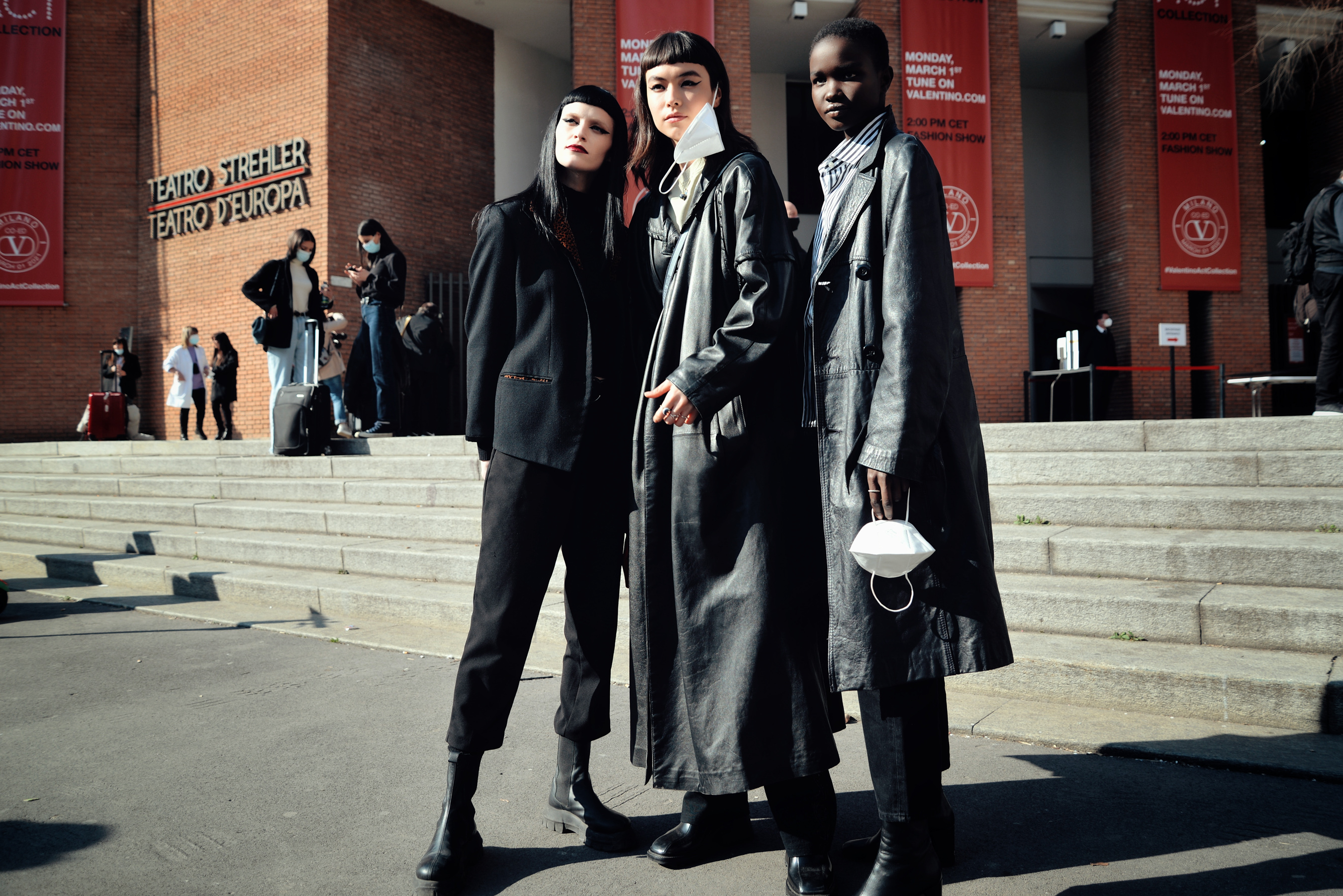 Milan Fashion Week Fall 2021 Street Style Photos