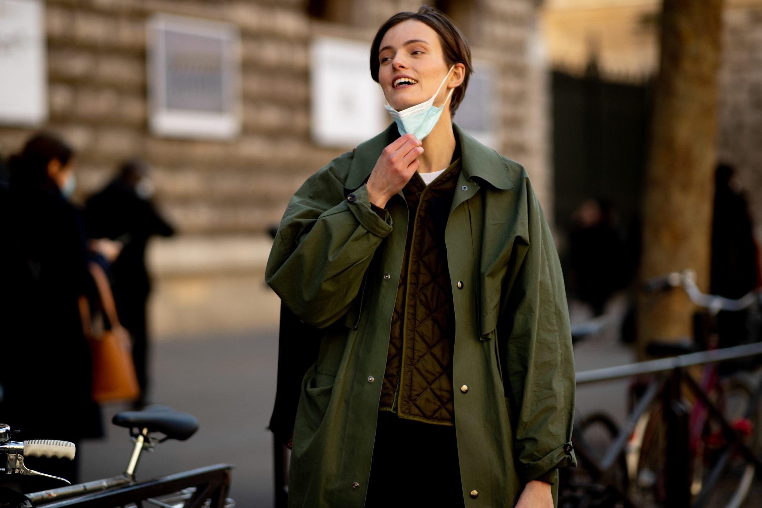 Paris Fashion Week Fall 2021 Street Style Photos