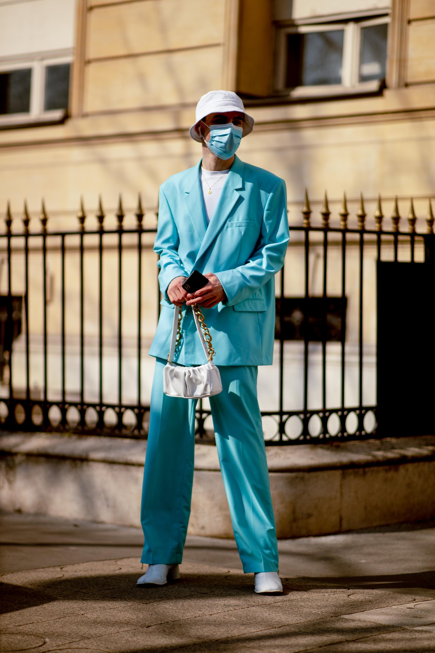 Paris Street Style Fall 2021 Day 7