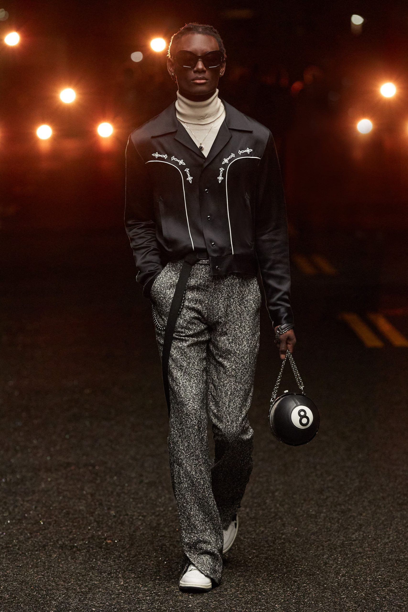 Amiri Fall 2021 Men's Fashion Show Photos