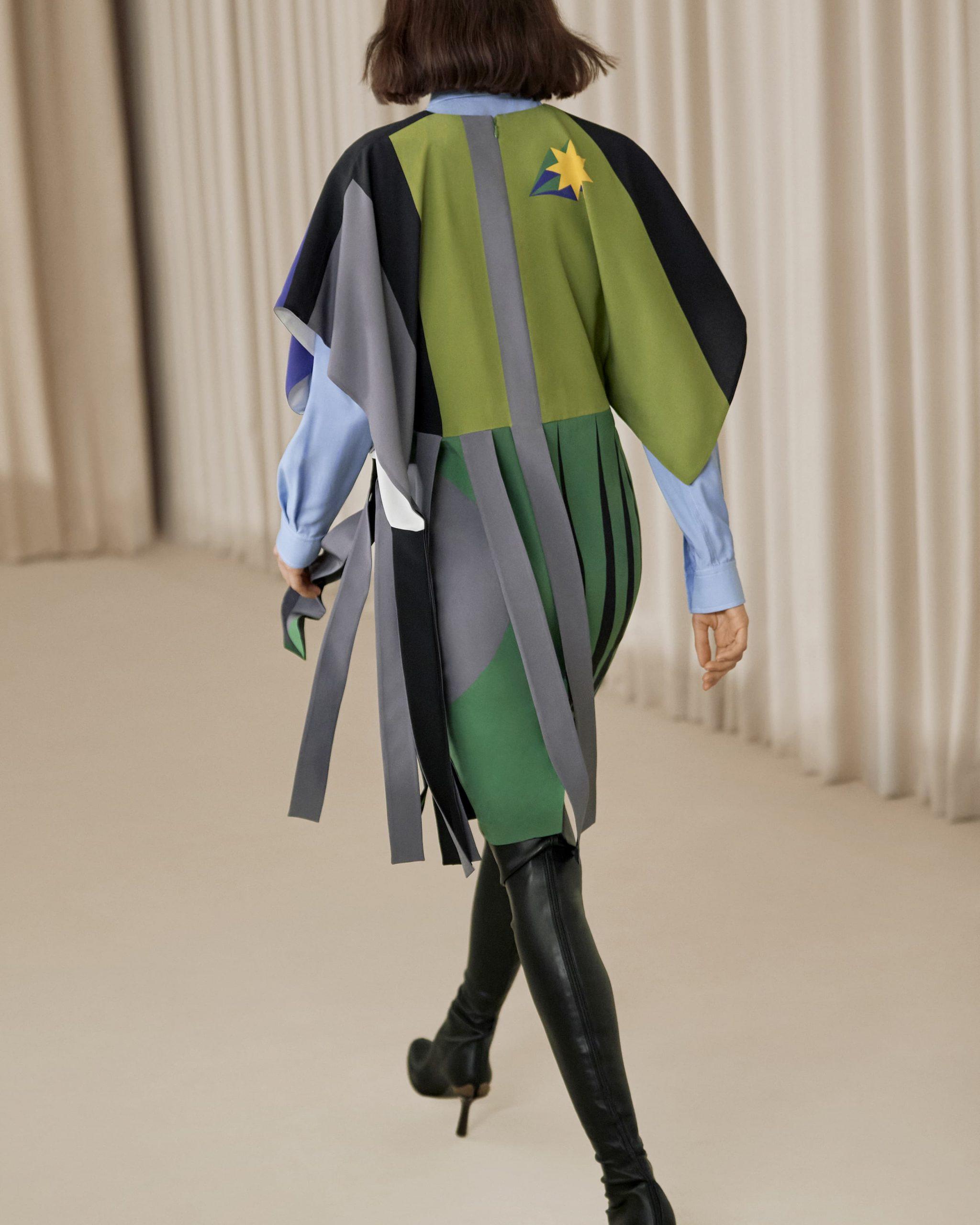 Burberry Fall 2021 Fashion Show atmosphere