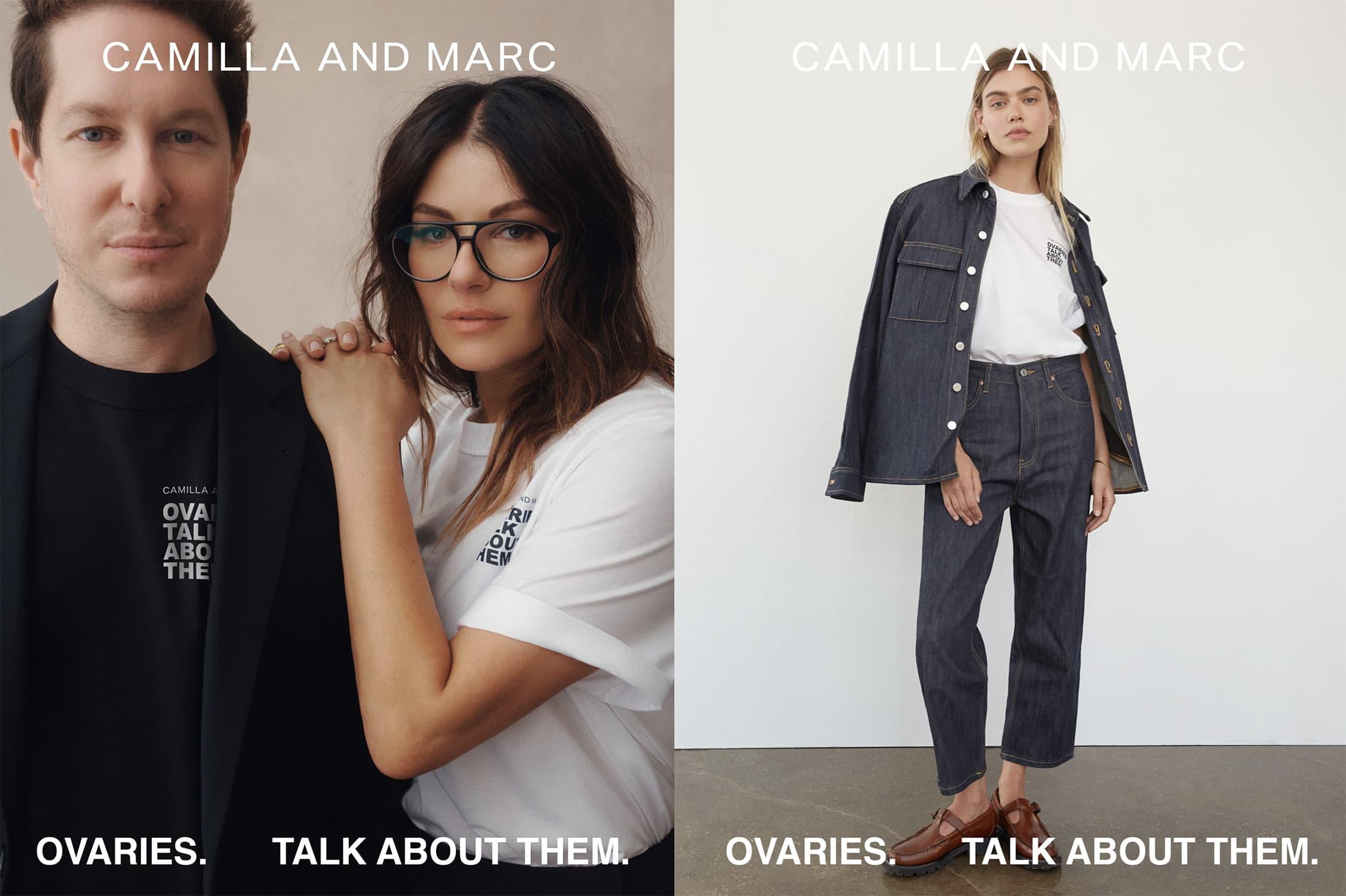 Camilla and Marc Ovarian Cancer 2021 Campaign Photos