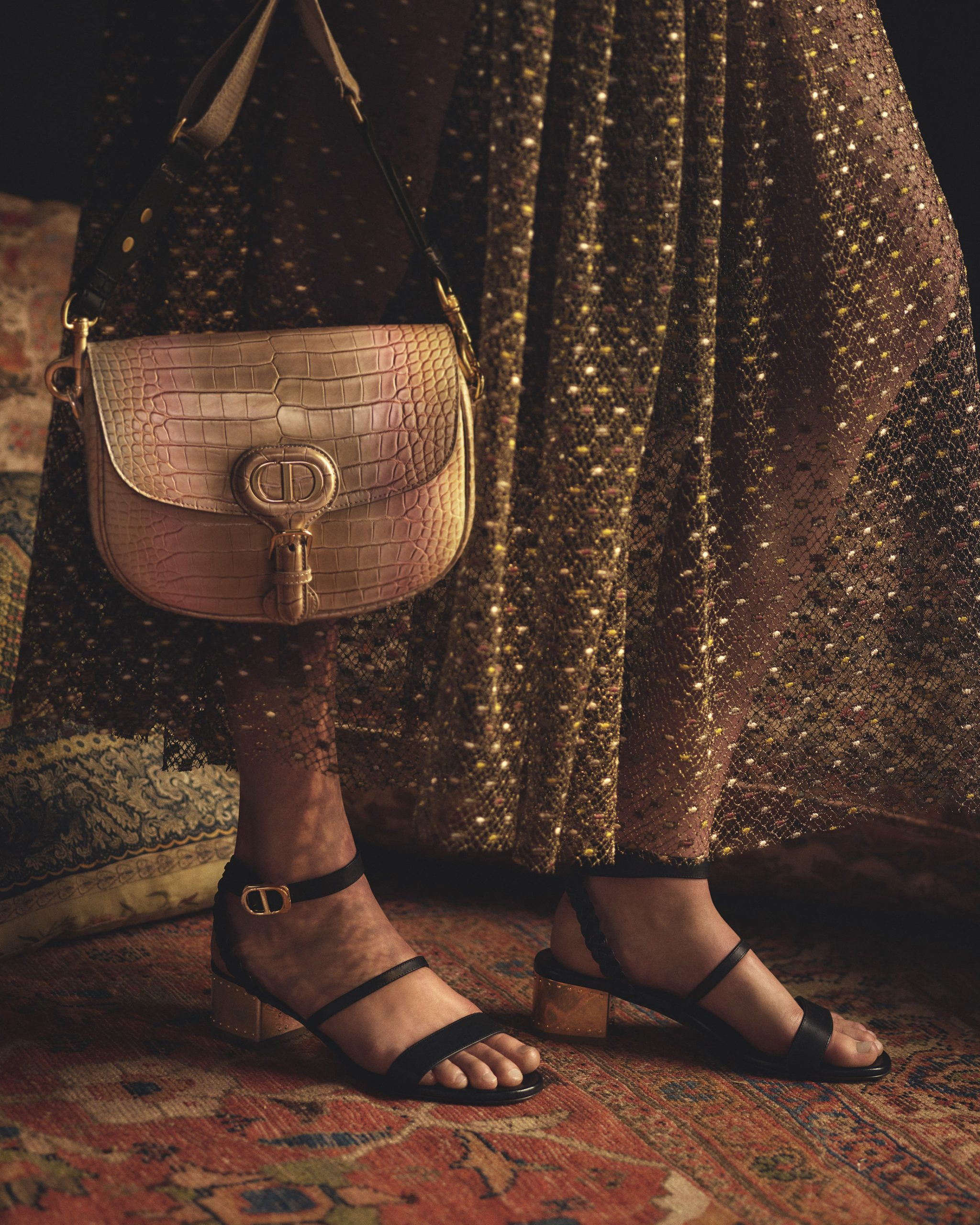 Dior's Latest Gold Capsule Reflects Dior's Storytelling Translated to Sales Approach