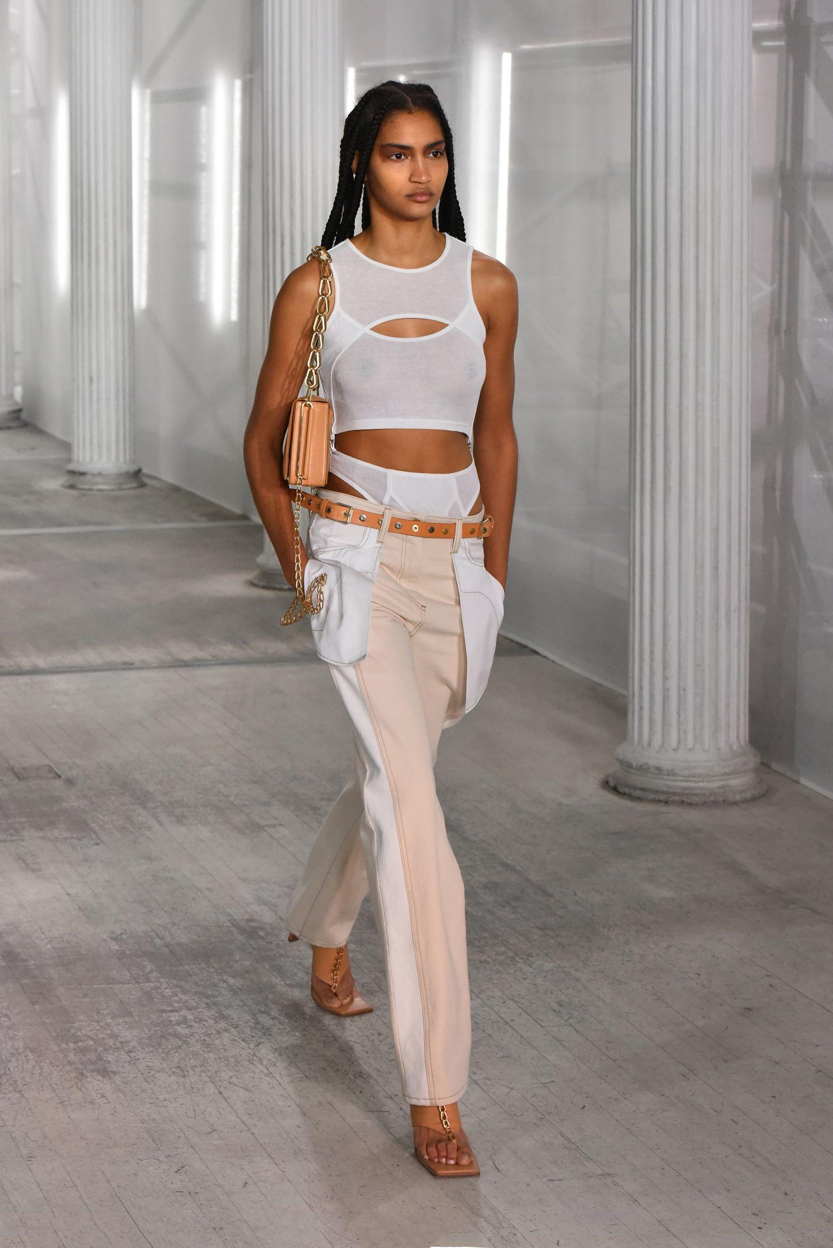 Dion Lee Fall 2021 Fashion Show Photos