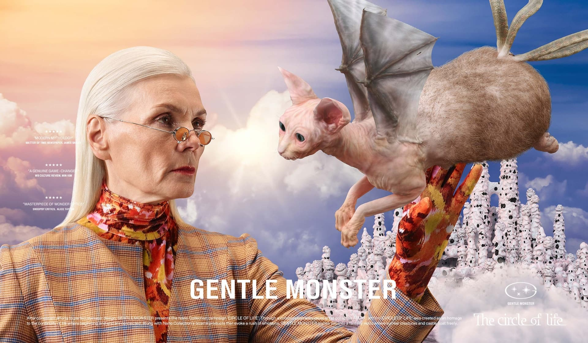 Gentle Monster 'Nano' Spring 2021 Ad Campaign Photos
