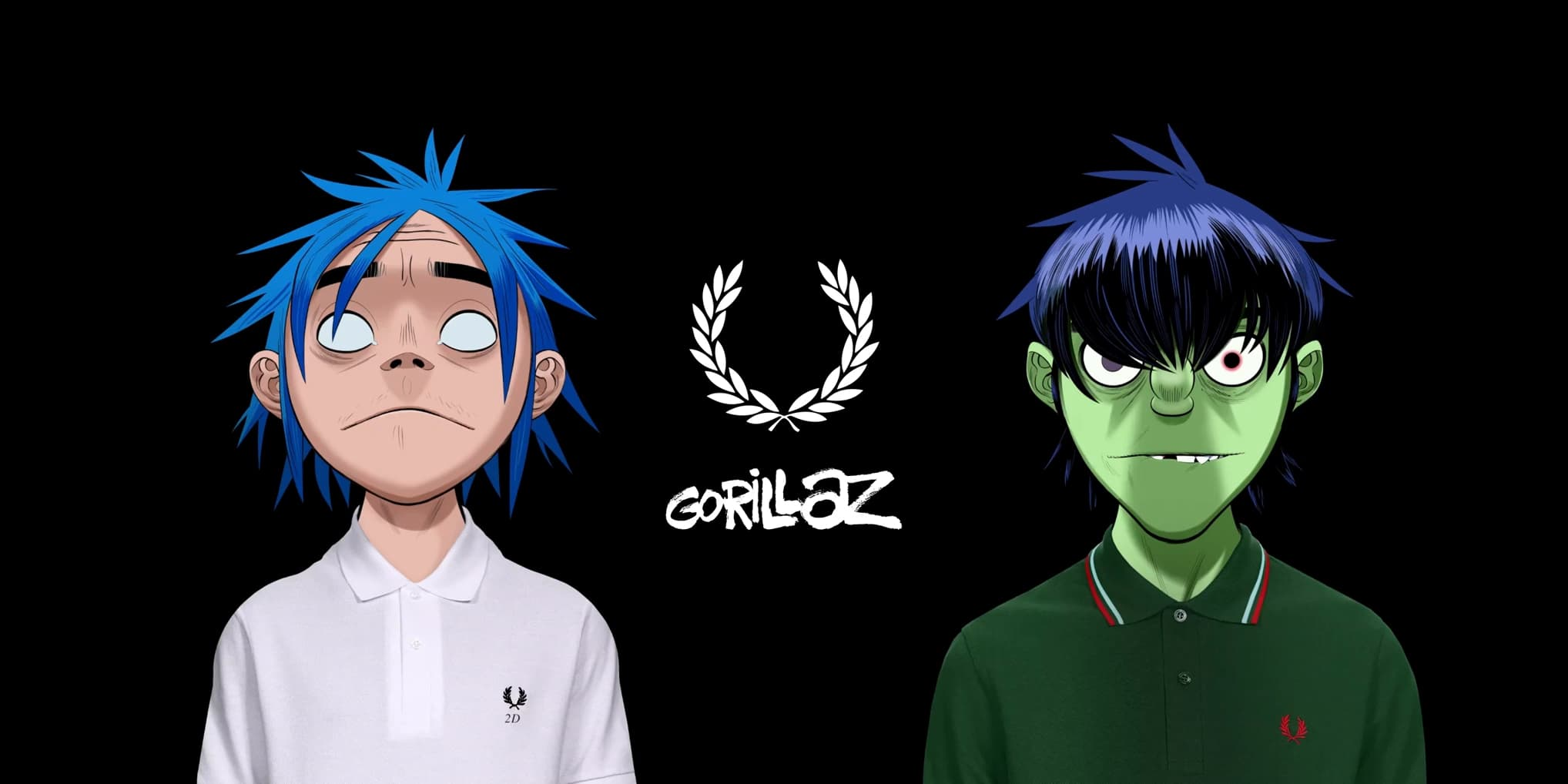 Fred Perry Gorillaz Spring 2021 Ad Campaign Photos