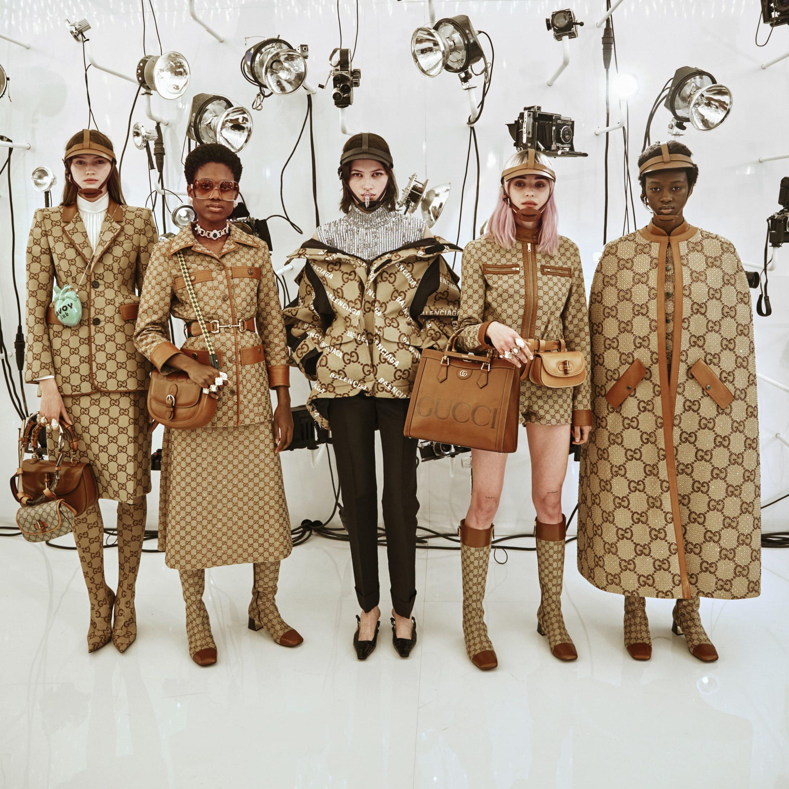 Gucci Fall 2021 Fashion Show Backstage