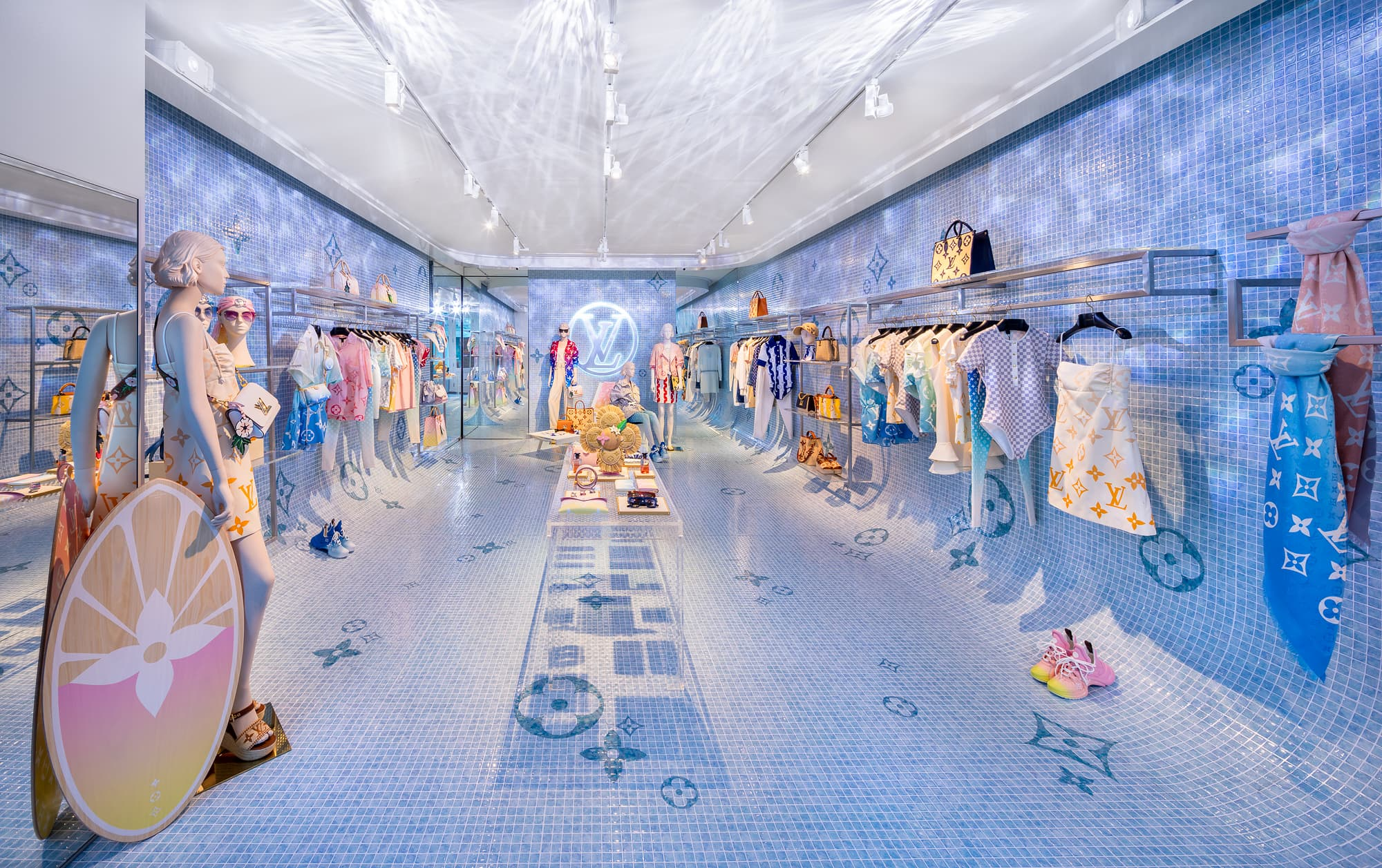 Louis Vuitton Opens Summer Pop-up Store in Soho, NYC