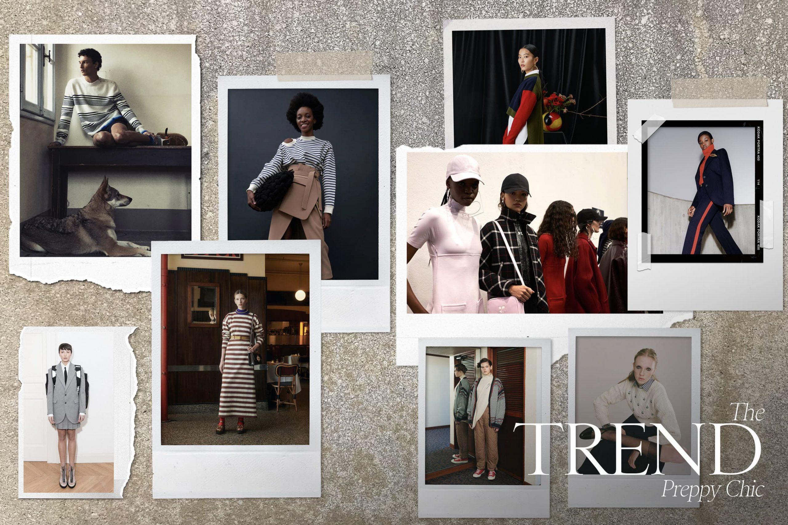 Preppy Chic Fall 2021 Fashion Trend