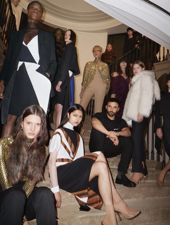 Burberry Fall 2021 Fashion Show Backstage