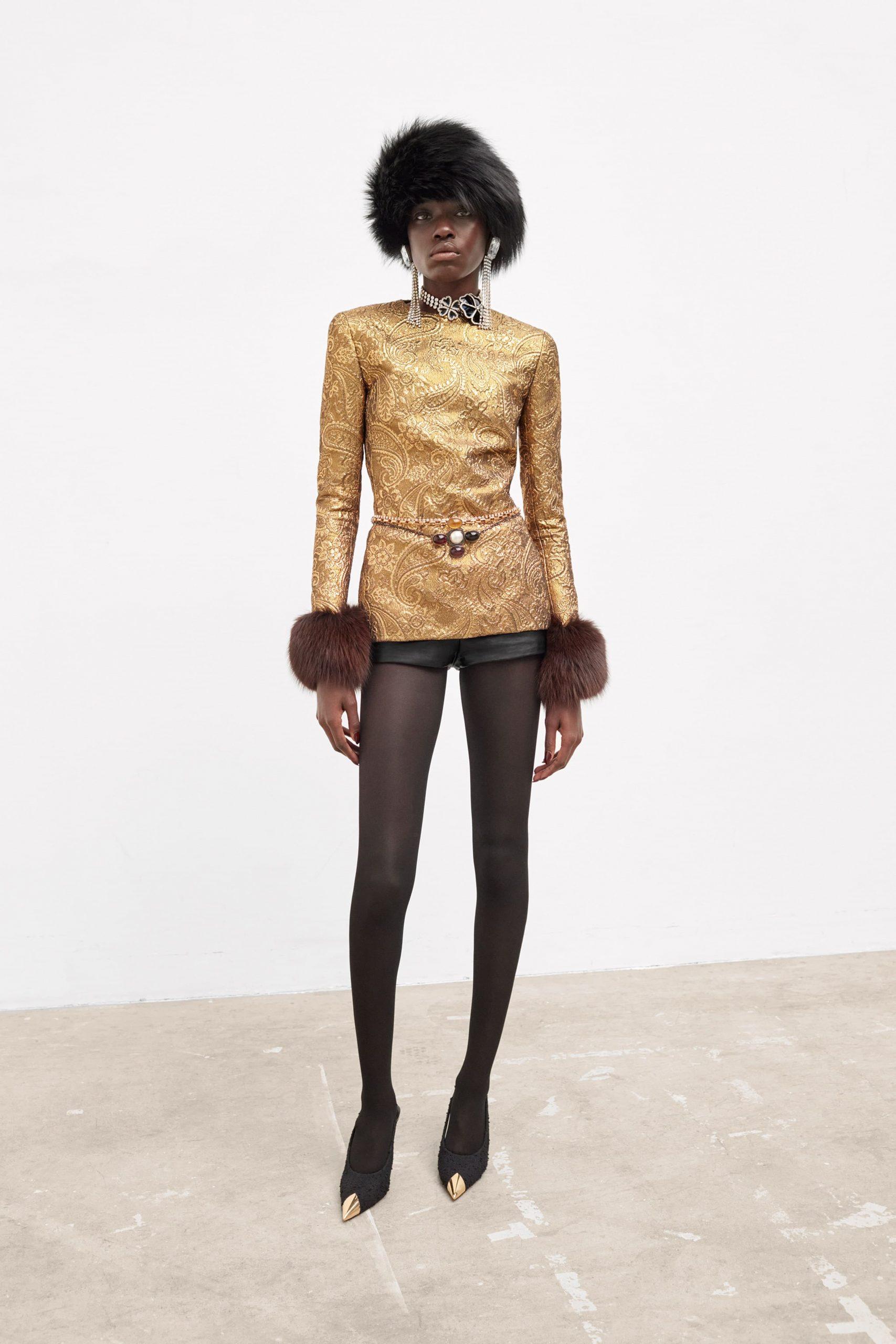 Saint Laurent Fall 2021 Fashion Show Photos