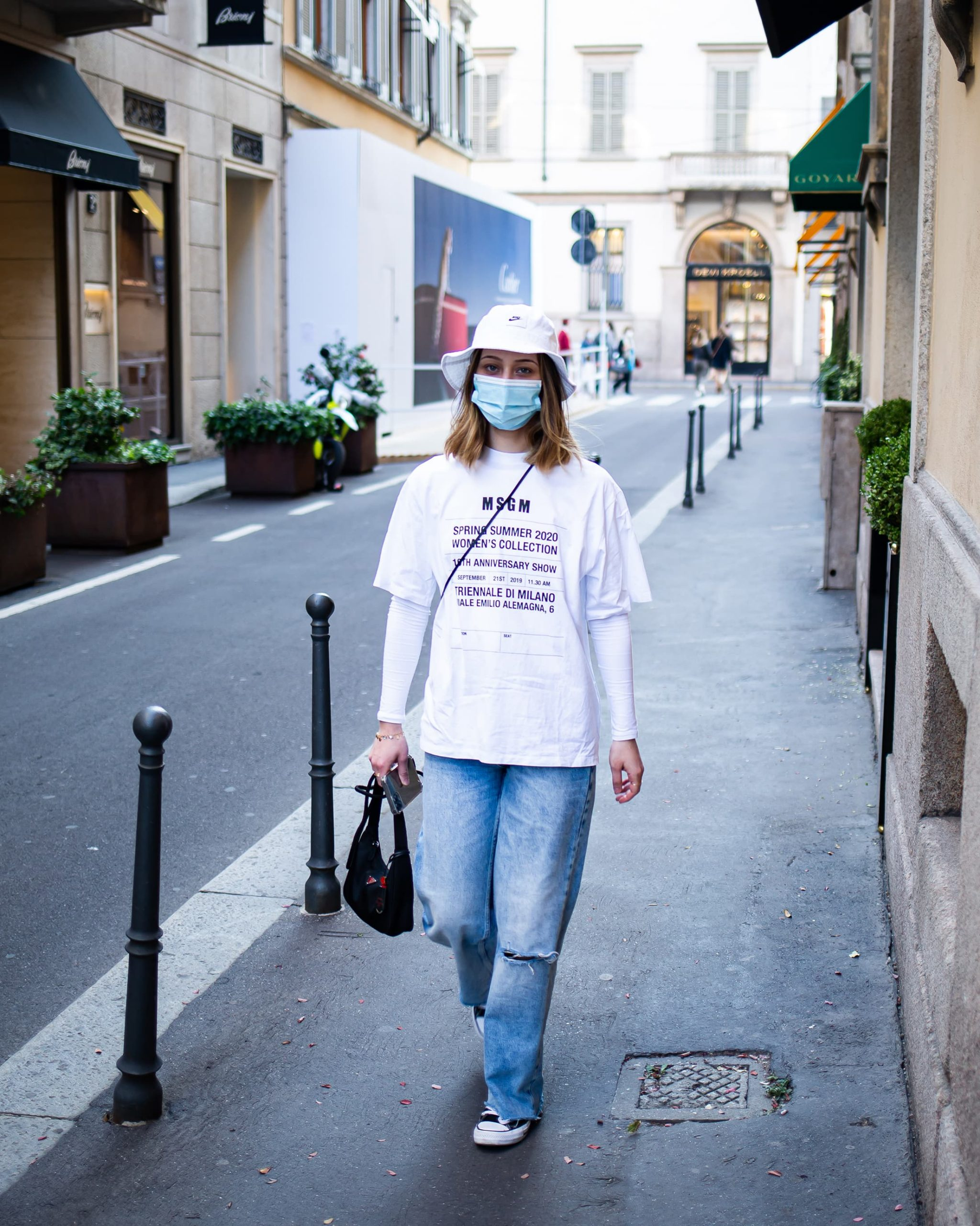 Milan April Spring 2021 Street Style by Thomas Razzano Photos