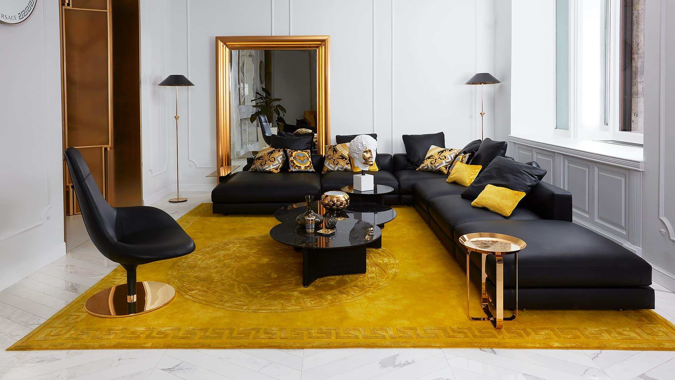 Versace home Spring 2021 Ad Campaign Photos