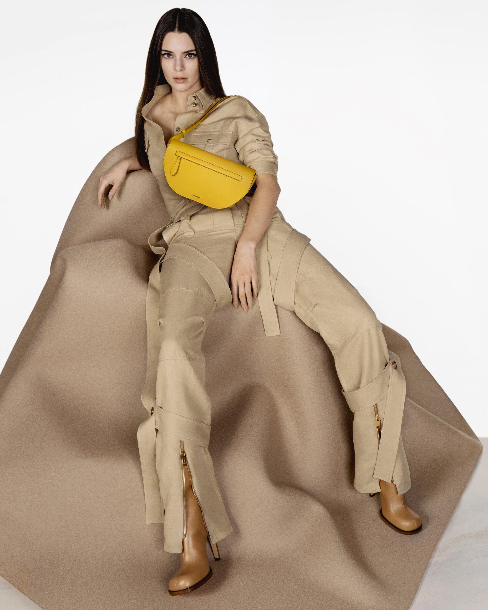 Burberry Olympia Bag Spring 2021 Ad Campaign Photos