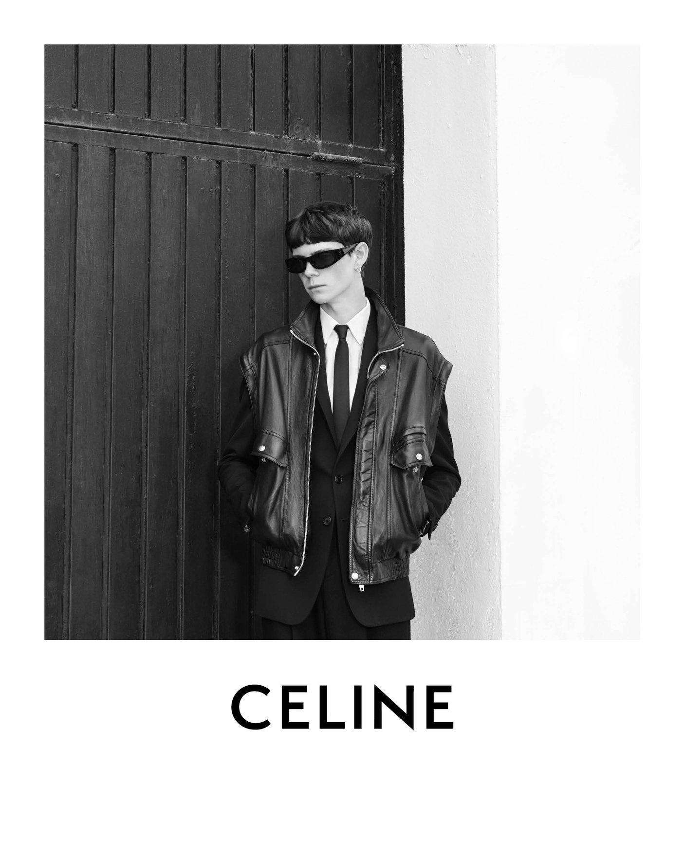 Celine Homme Spring 2021 Ad Campaign Photos