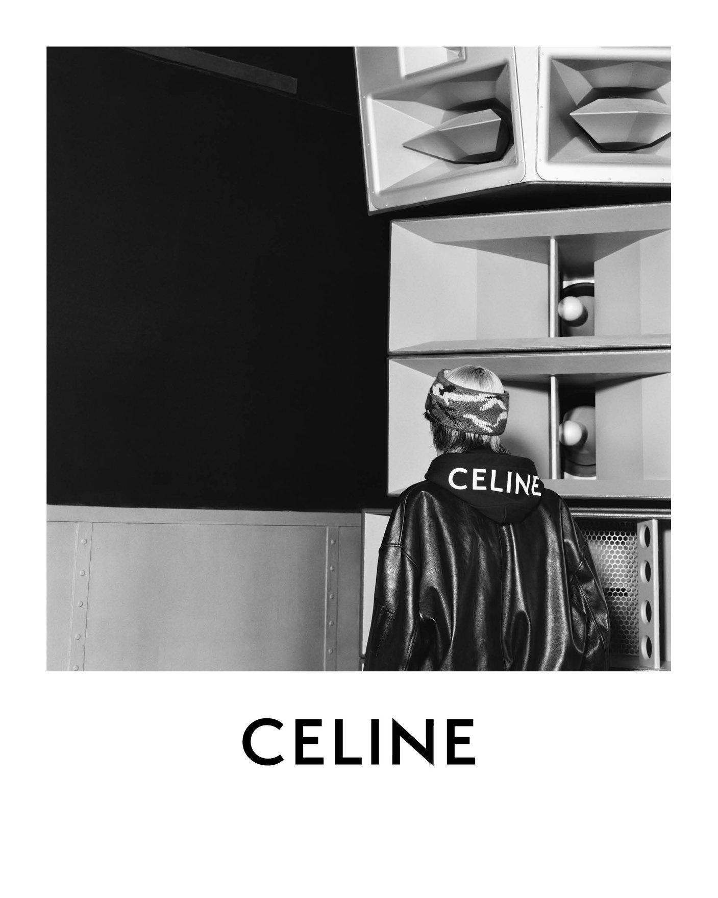 Celine Men's Spring 2021 Ad Campaign Photos
