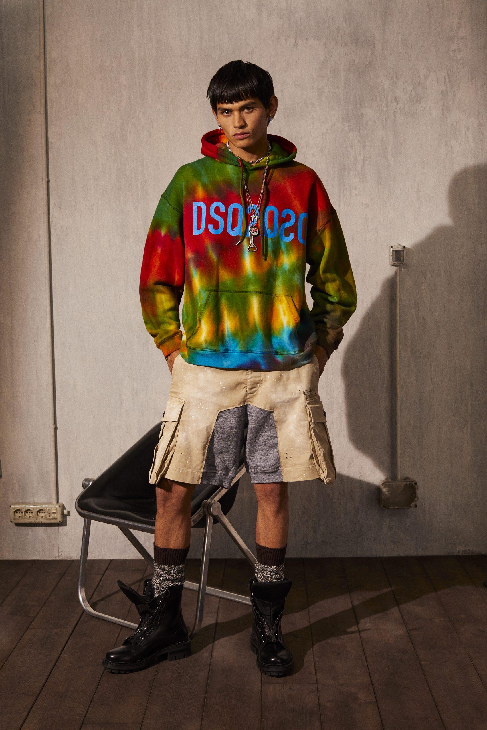 Dsquared2 Resort 2022 Men's Fashion Show Photos