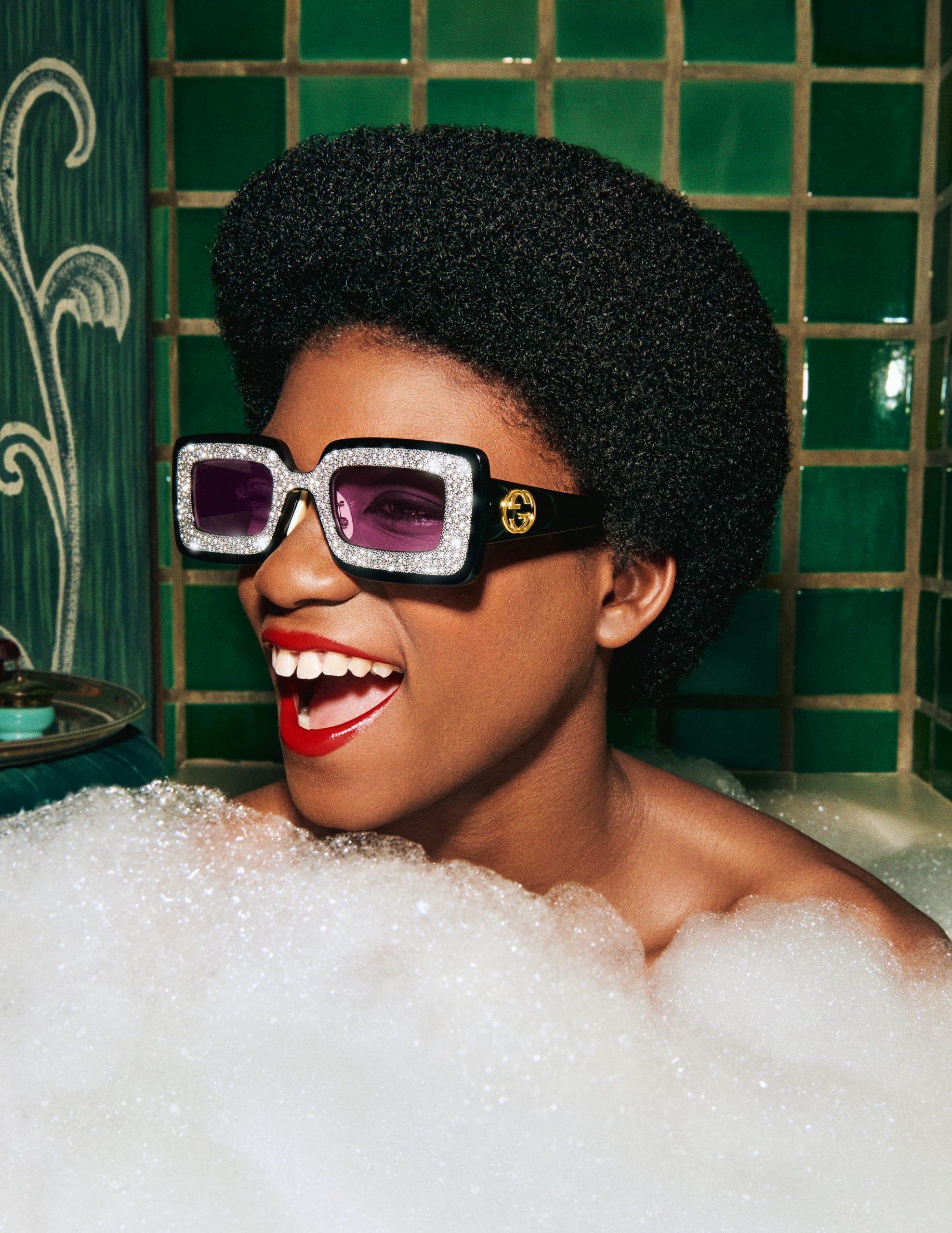 Gucci Eyewear Spring 2021 Ad Campaign Photos