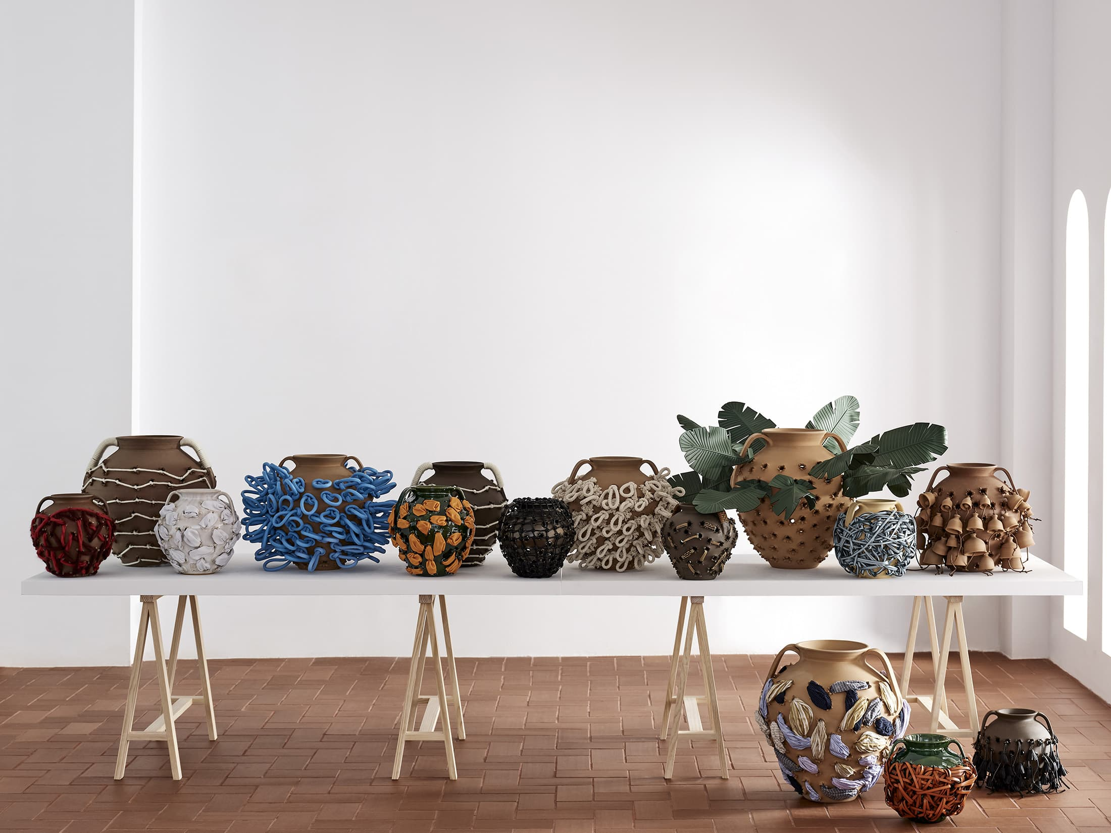 Loewe Weaves Collection Launched in Collaboration With Sotheby's