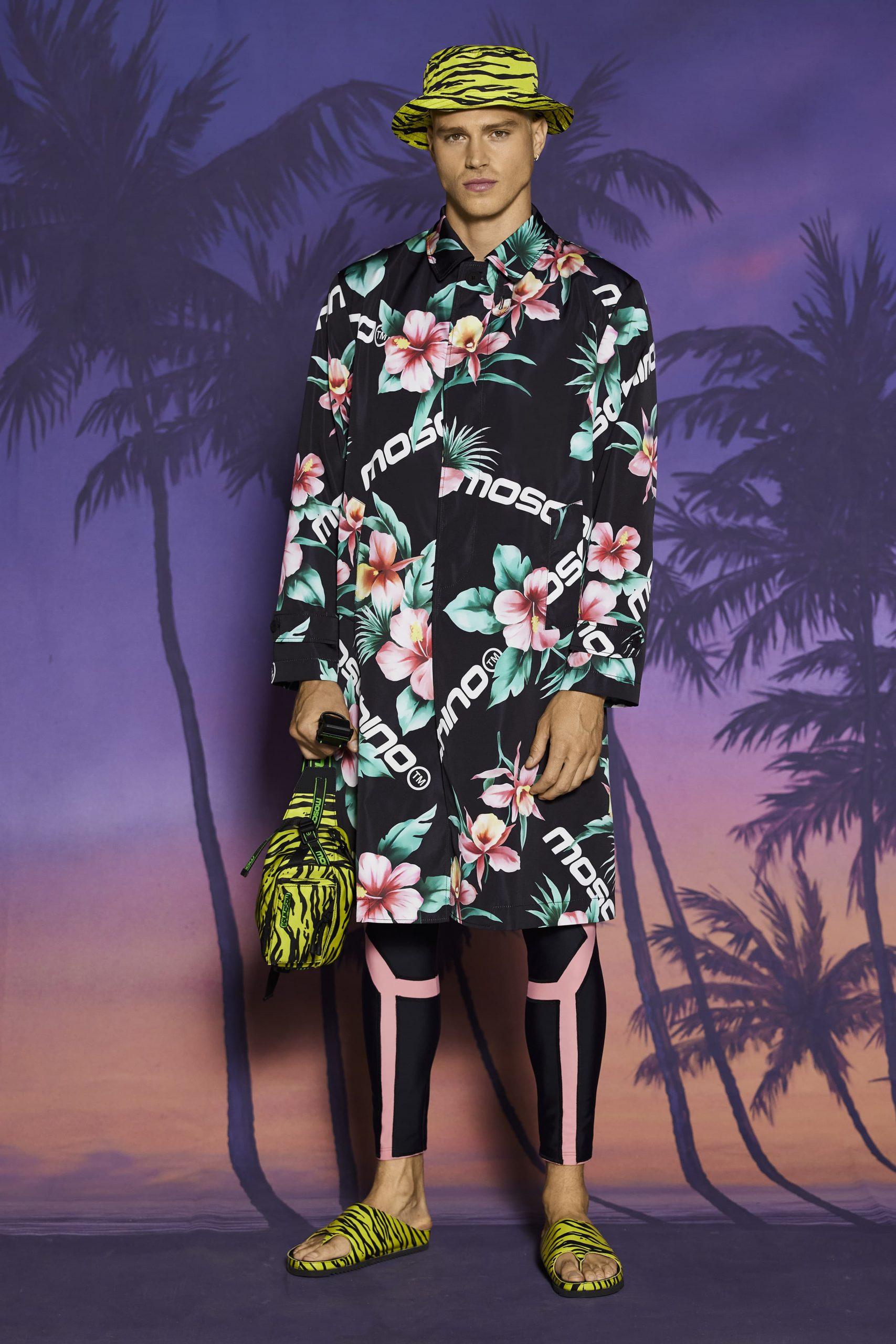 Moschino Resort 2022 Men's Fashion Show