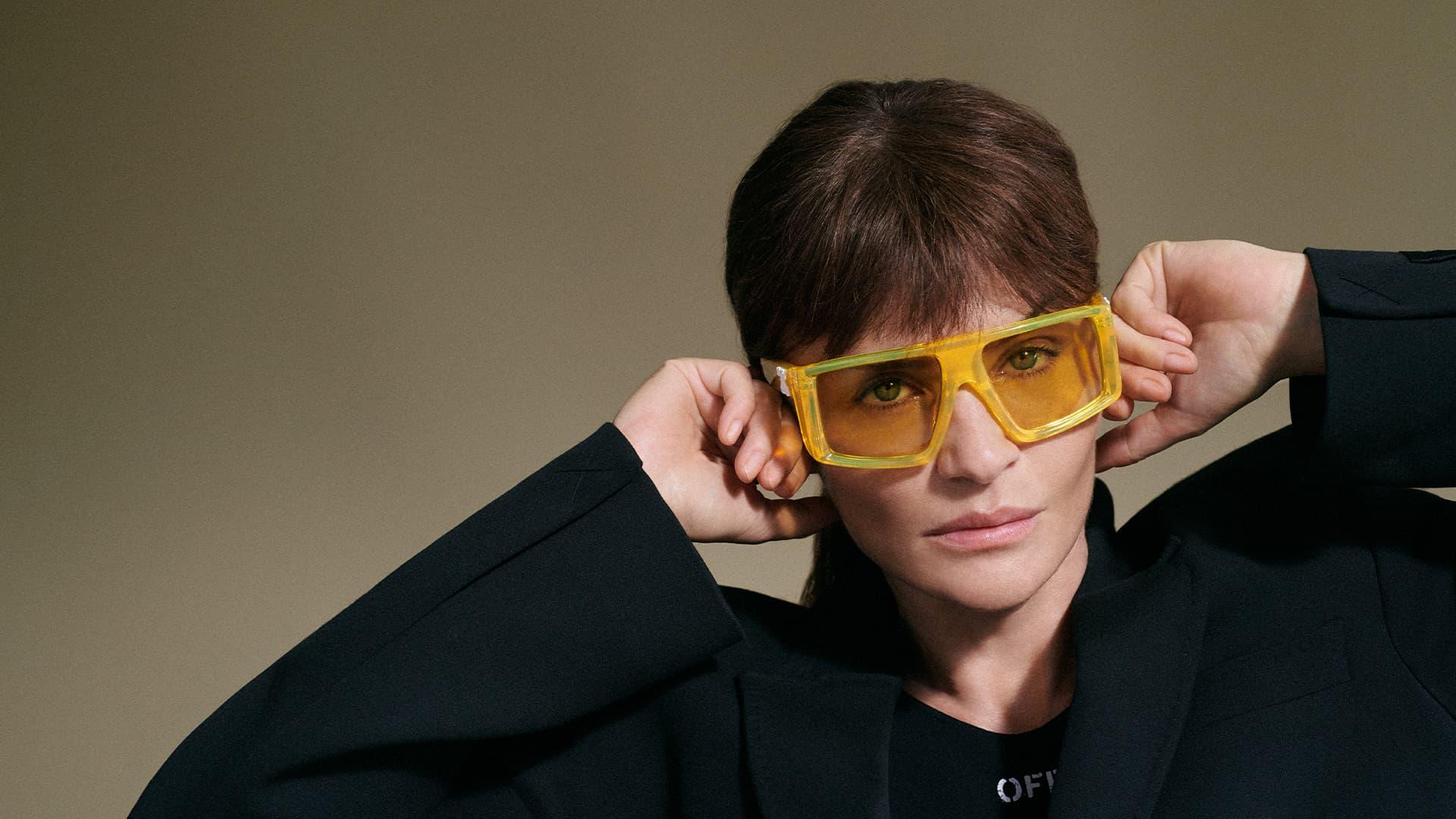 Off-White Eyewear Summer 2021 Ad Campaign Photos