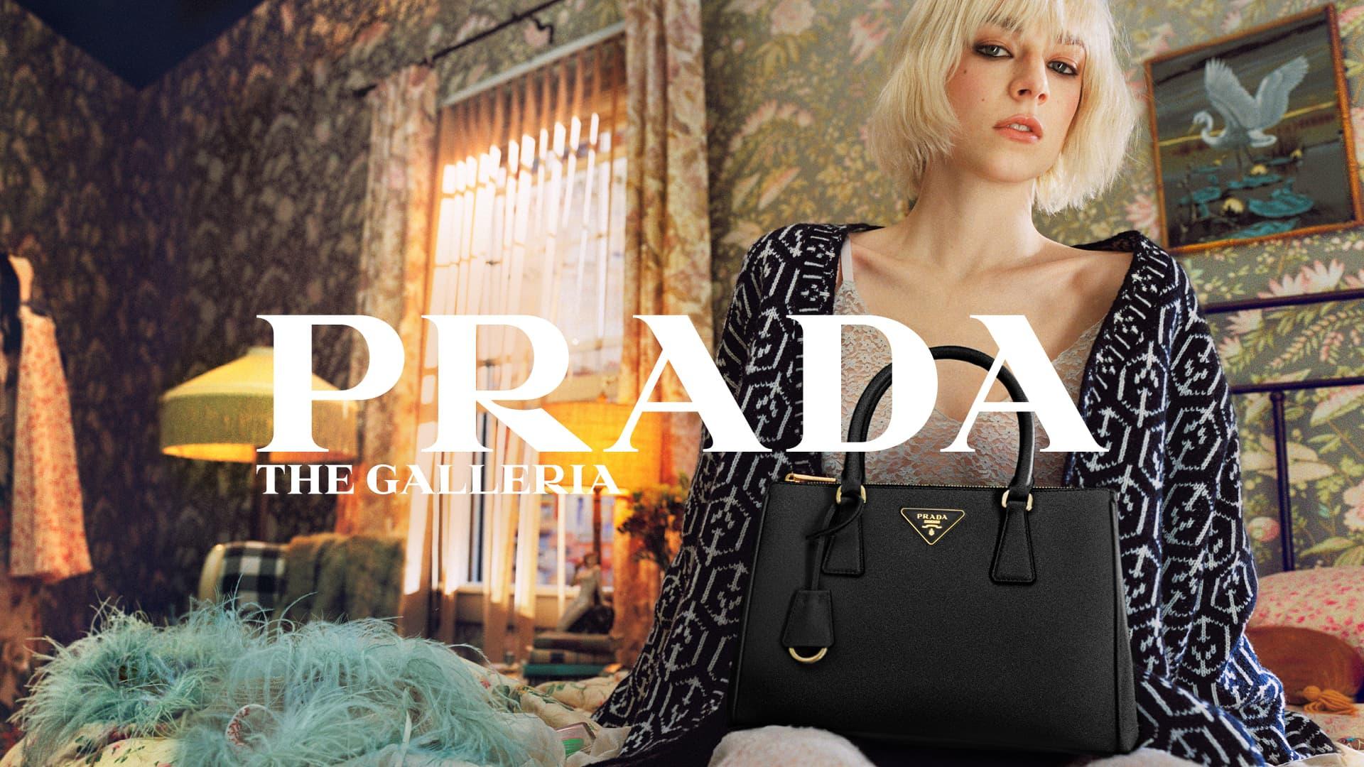 Prada Galleria Spring 2021 Ad Campaign Photos