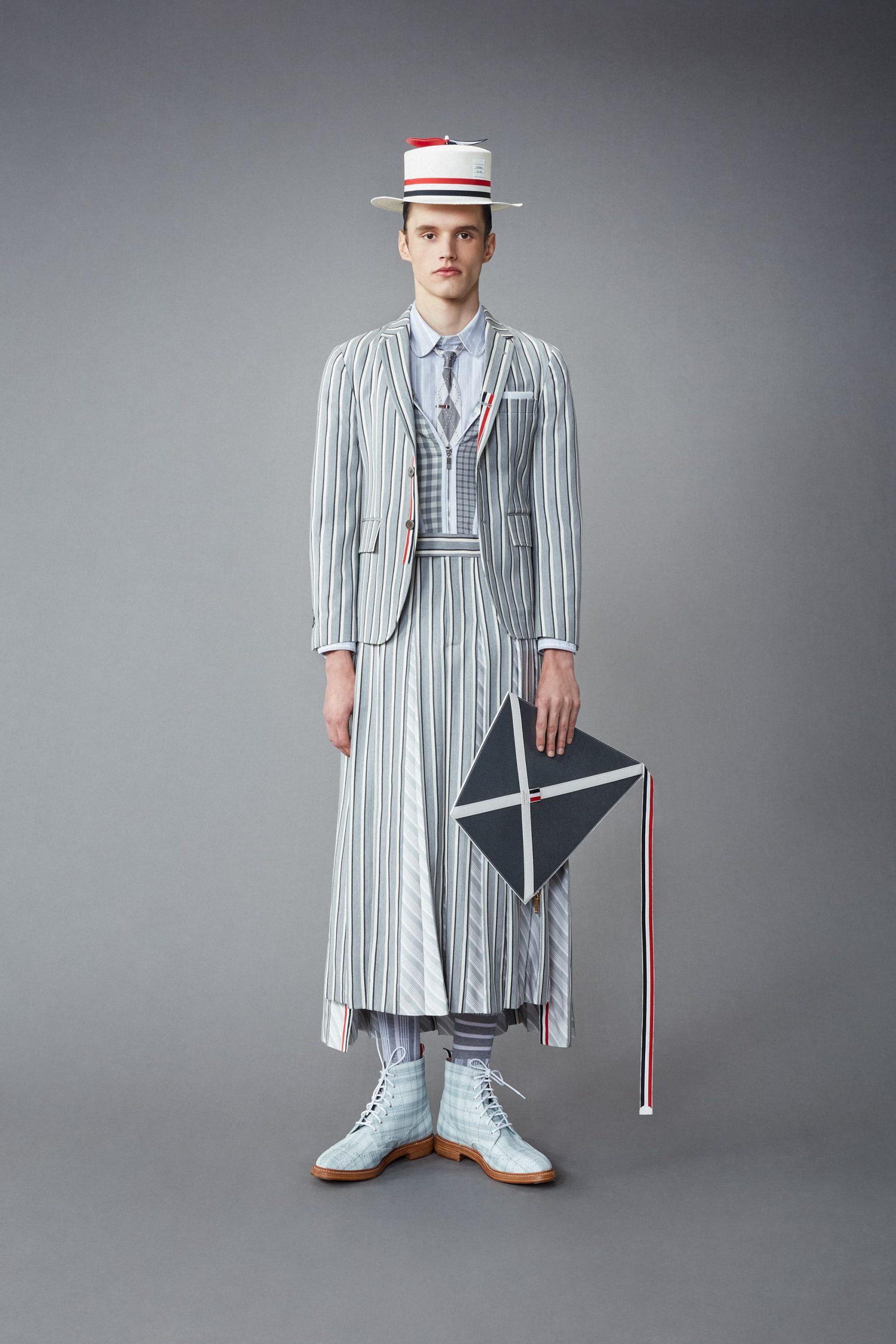 Thom Browne Resort 2022 Men's Fashion Show Photos