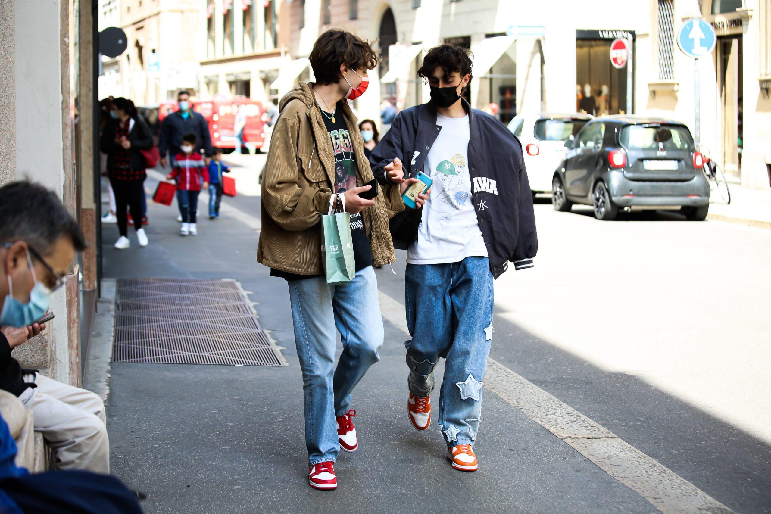 Milan Early May Spring 2021 Street Style by Thomas Razzano Photos