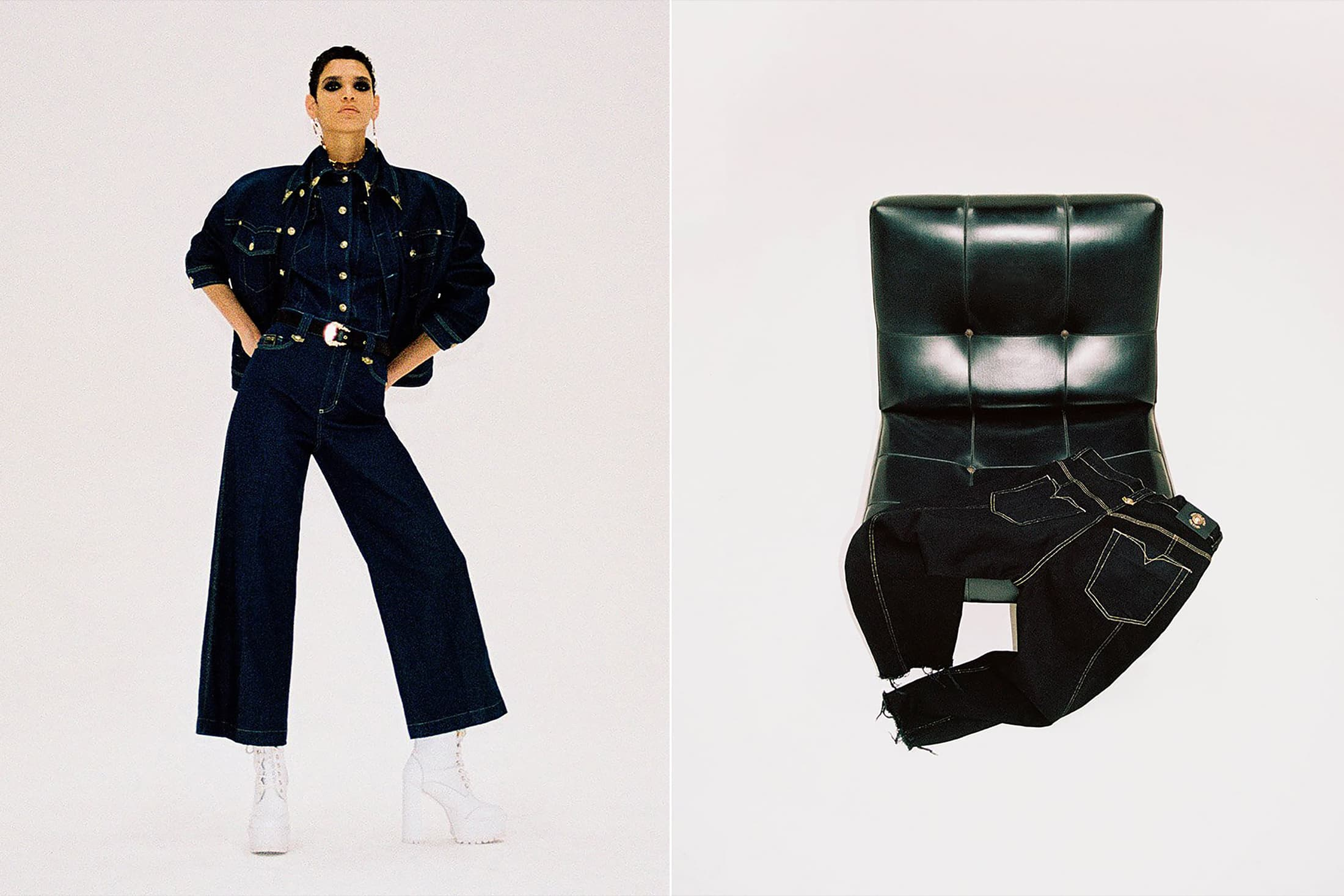 Versace Jeans Couture Spring 2021 Ad Campaign Photos