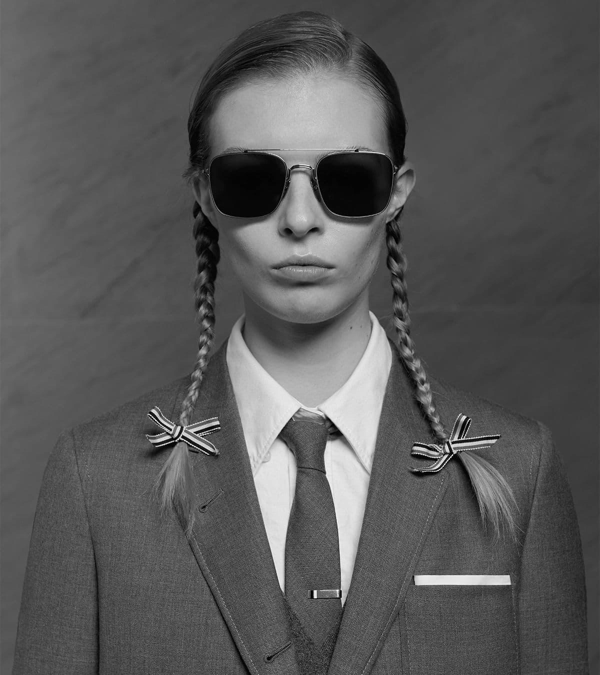 Thom Browne Eyewear 2021 Ad Campaign Photos