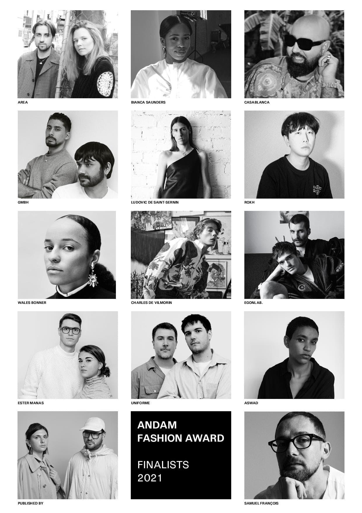 ANDAM Fashion Awards 2021 Names 14 Finalists