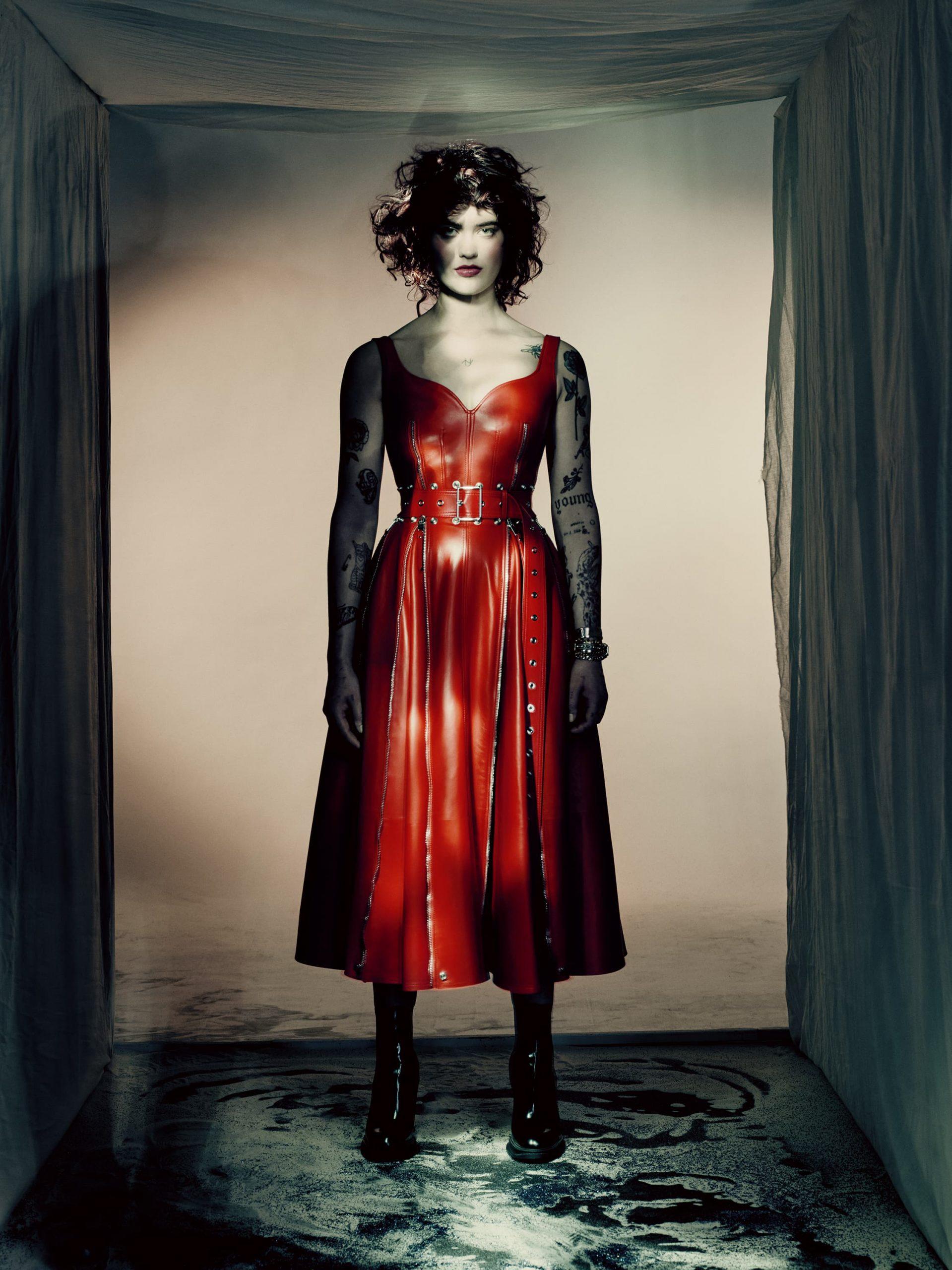 Alexander McQueen Anemones Fall 2021 Ad Campaign Photos