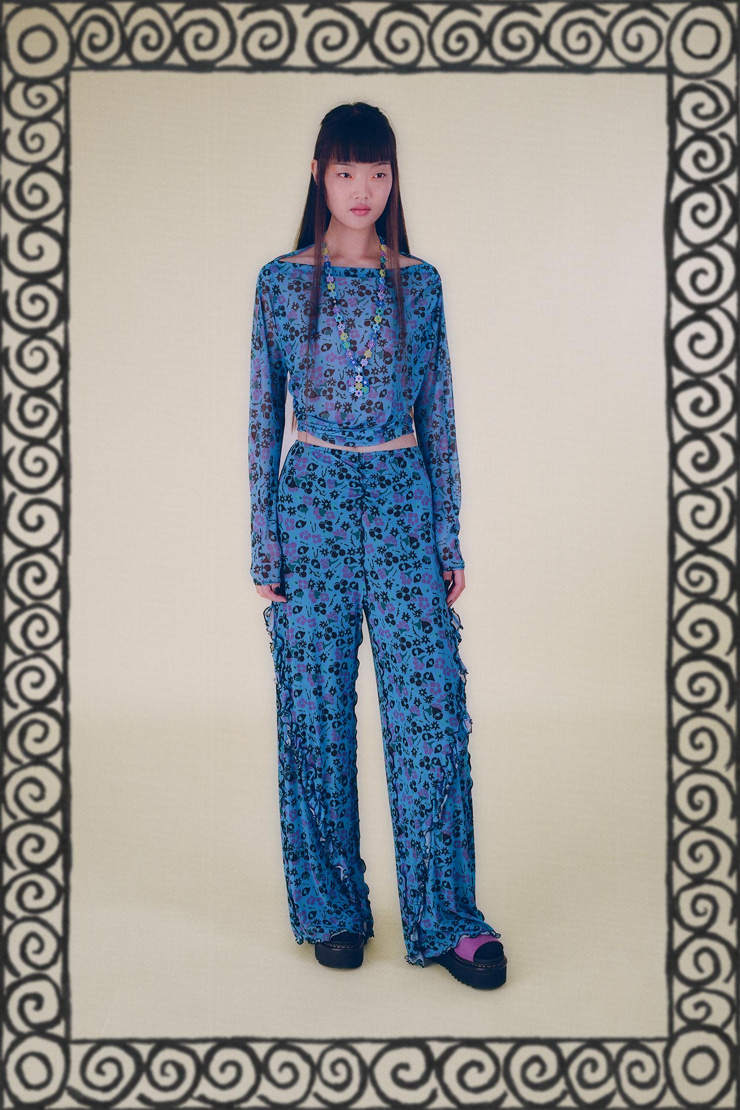 Anna Sui Resort 2022 Fashion Show Photos