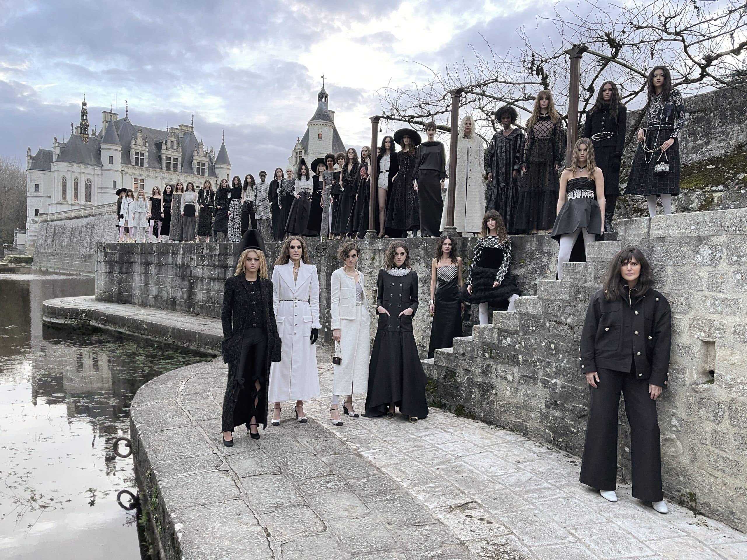 Chanel Le Château des Dames Métiers d'art 2020/21 Ad Campaign Photos