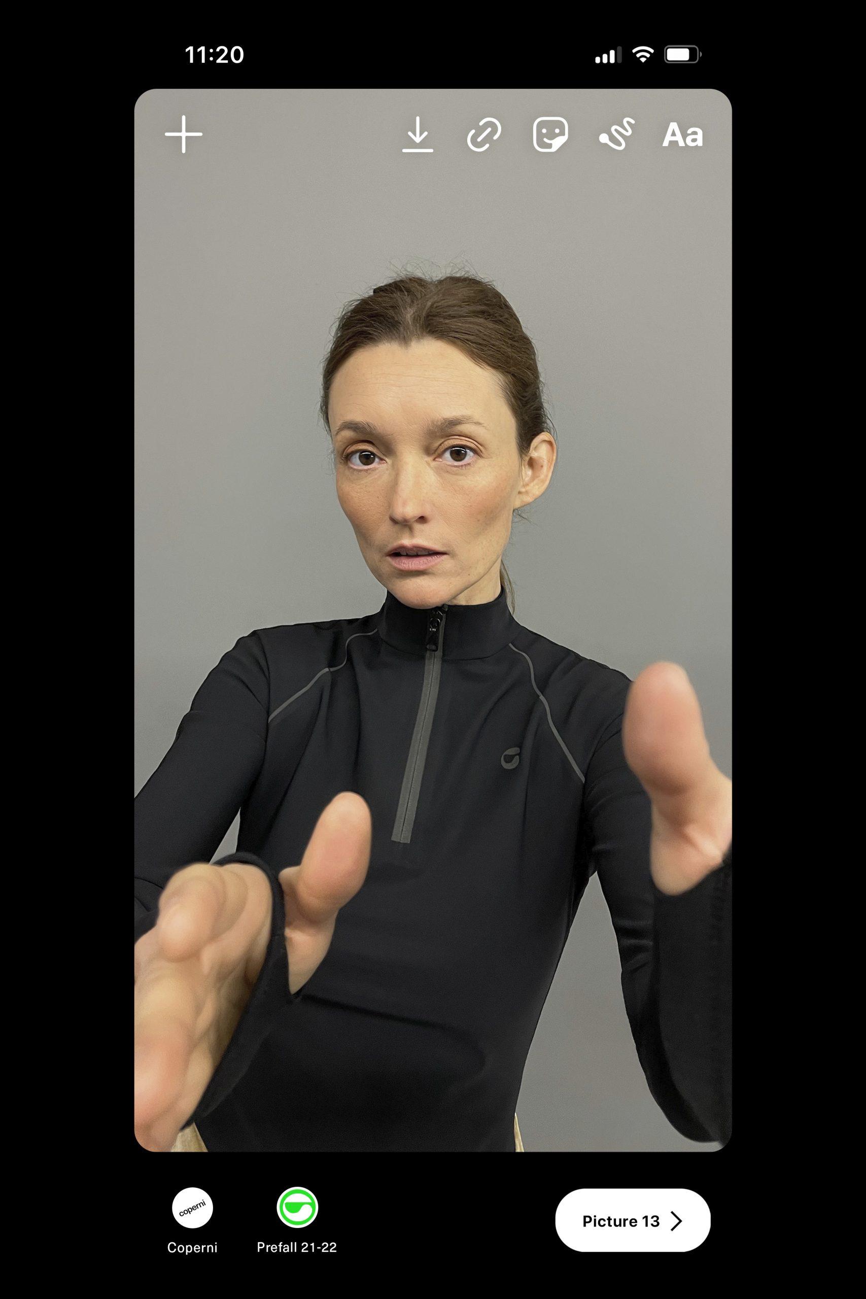 Coperni Pre-Fall 2021 Fashion Show Photos