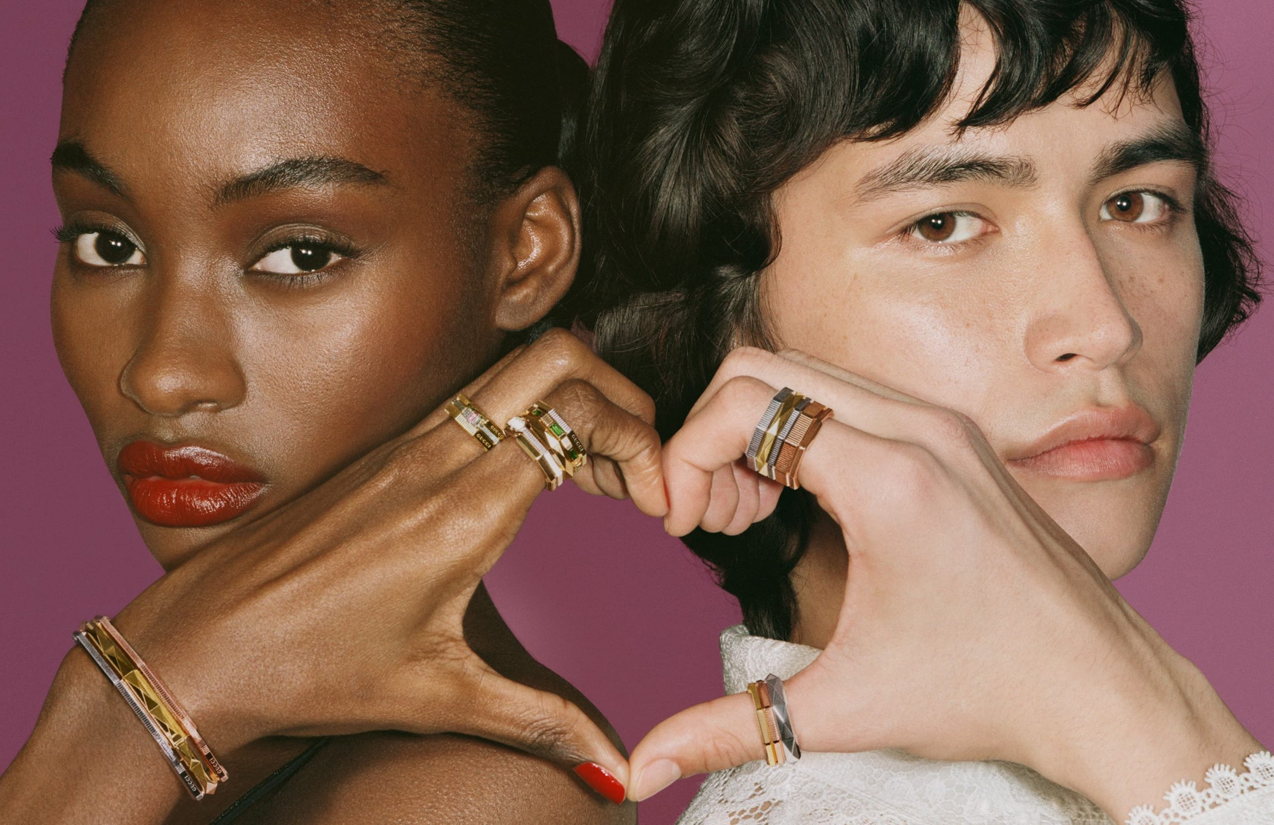 Gucci Jewelry 'Link To Love' Summer 2021 Ad Campaign Photos