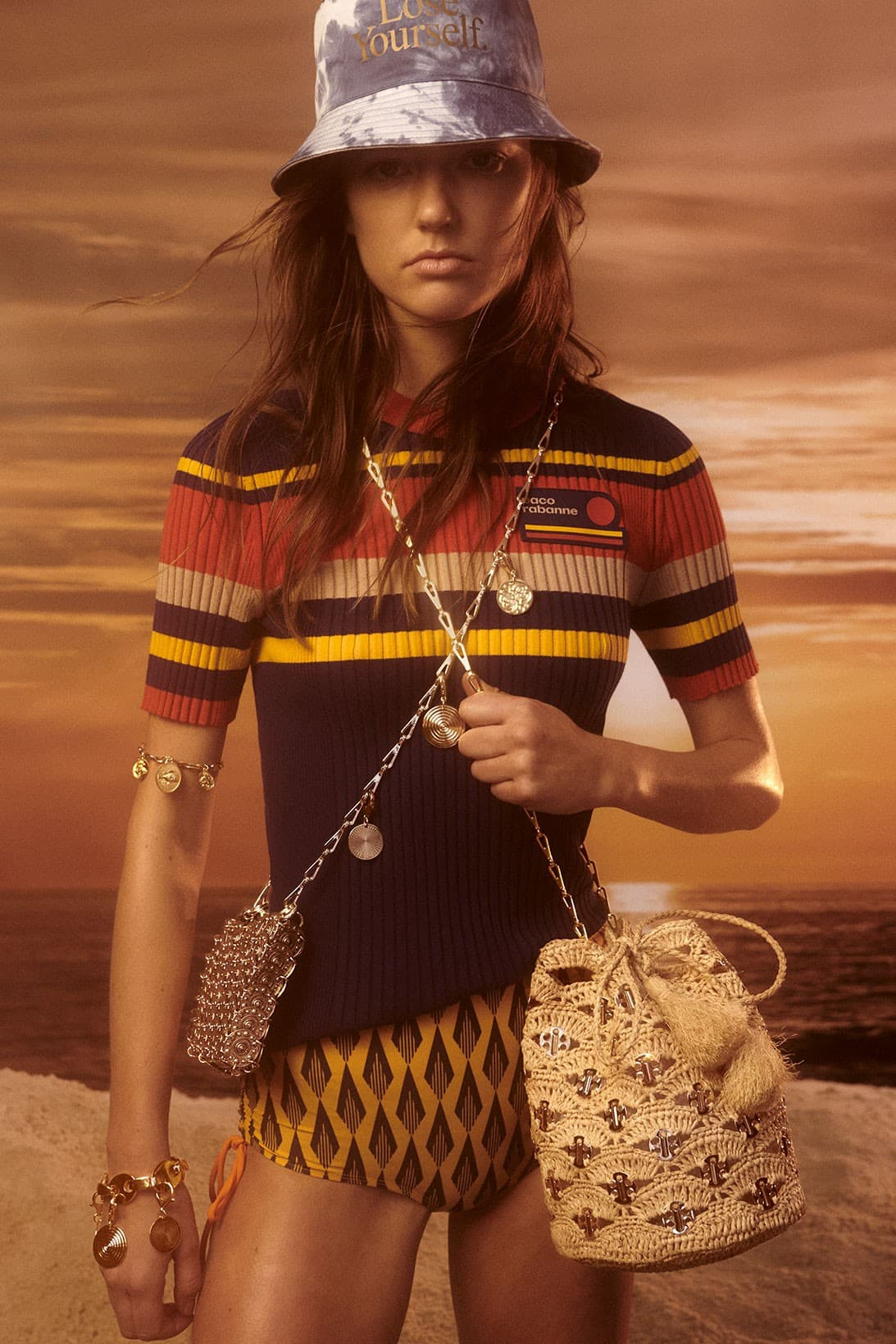 Paco Rabanne Ciao Paco Summer 2021 Ad Campaign Photos