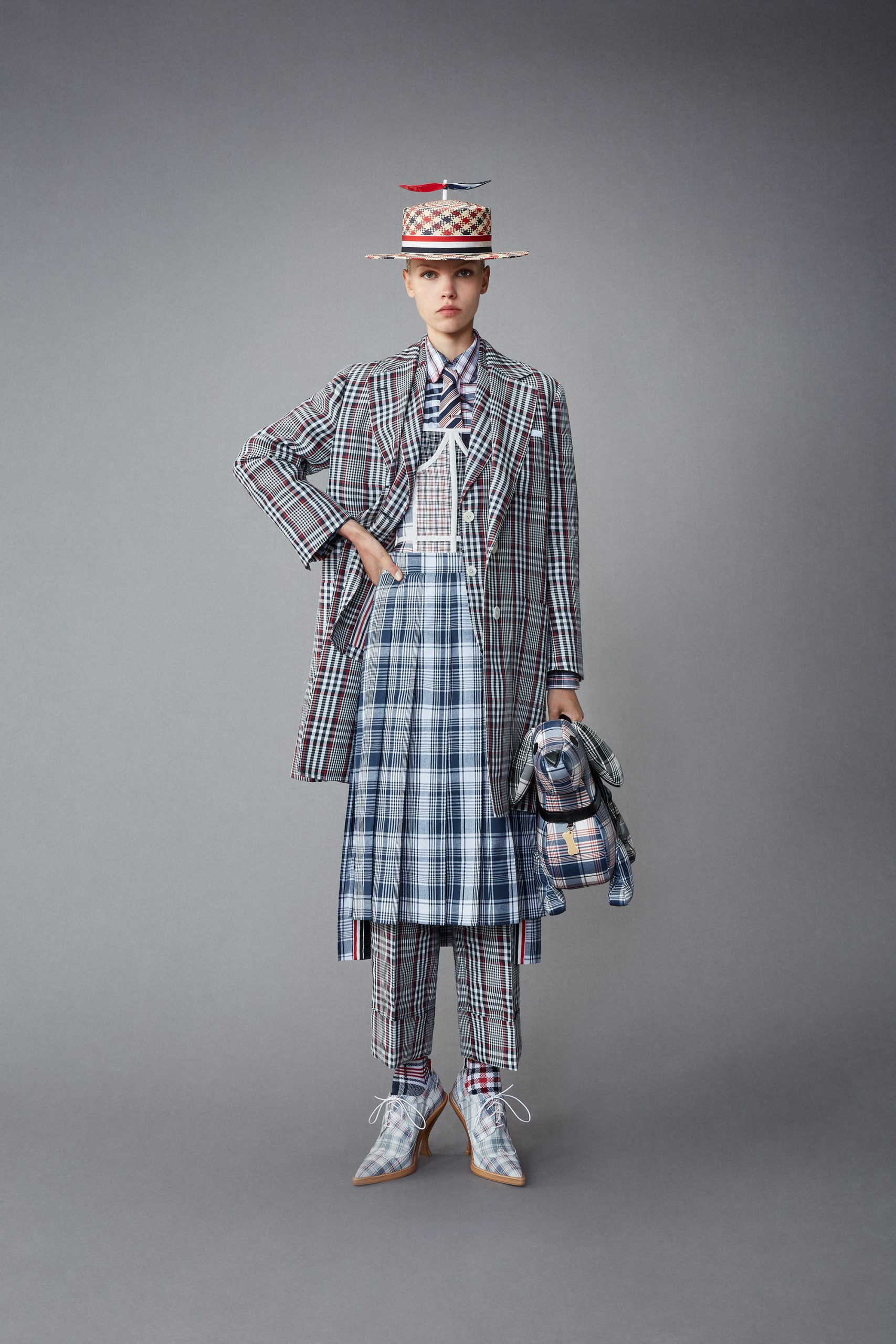 Thom Browne Resort 2022 Fashion Show Photos