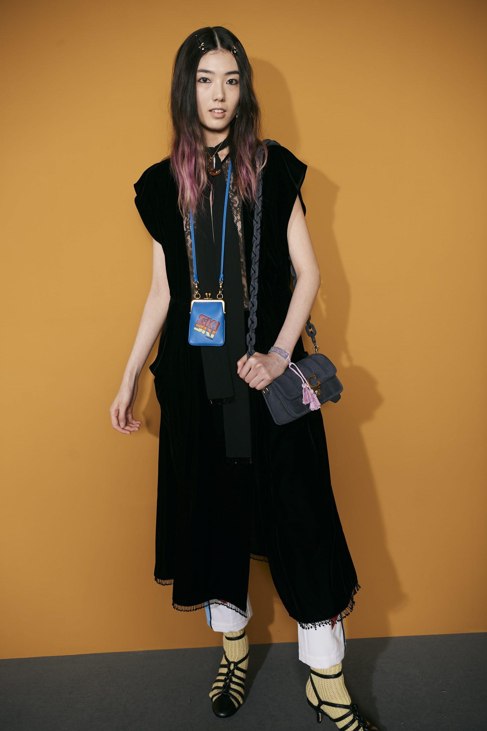 Coach Winter 2021 Fashion Show Backstage Photos