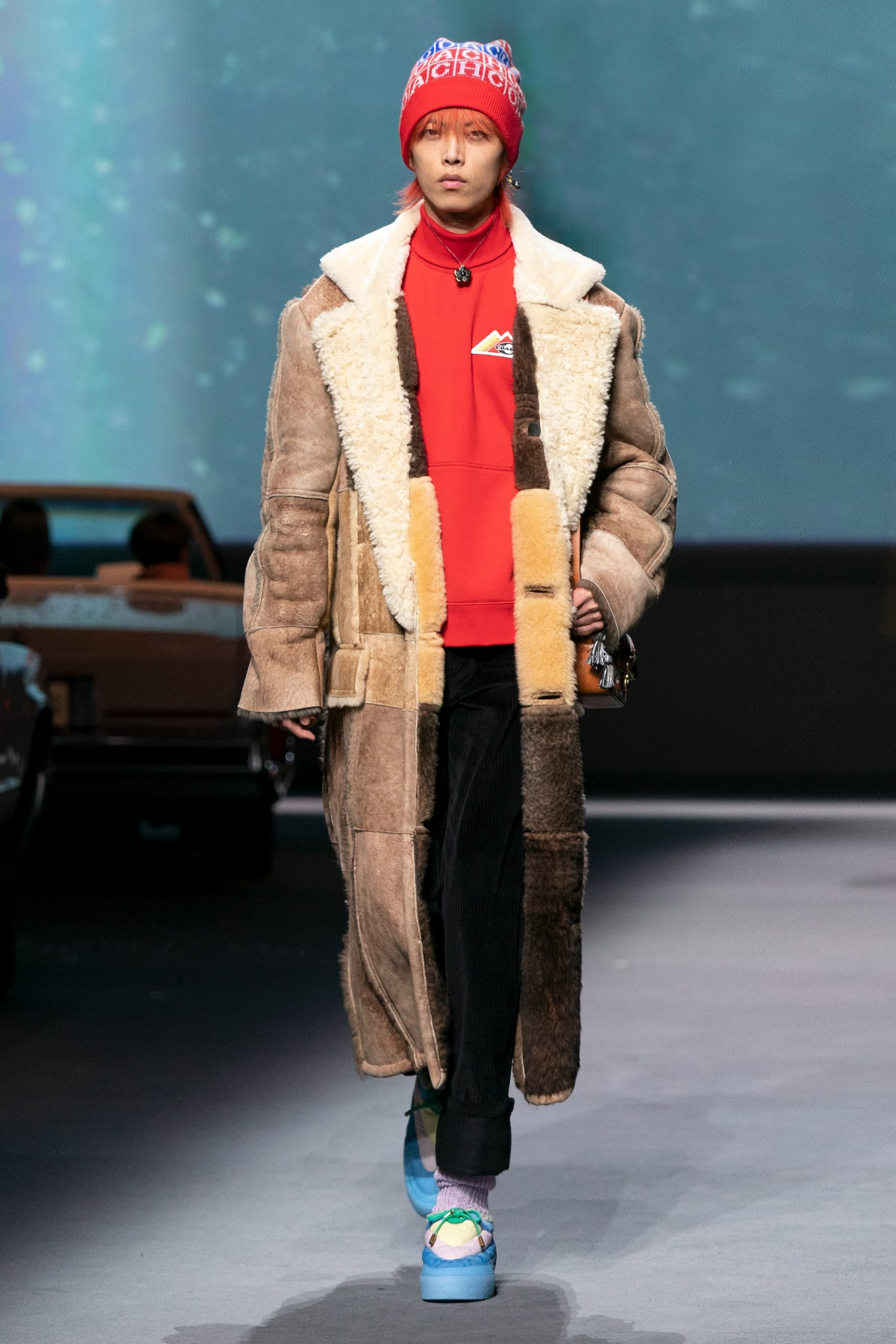 Coach Winter 2021 Fashion Show Photos