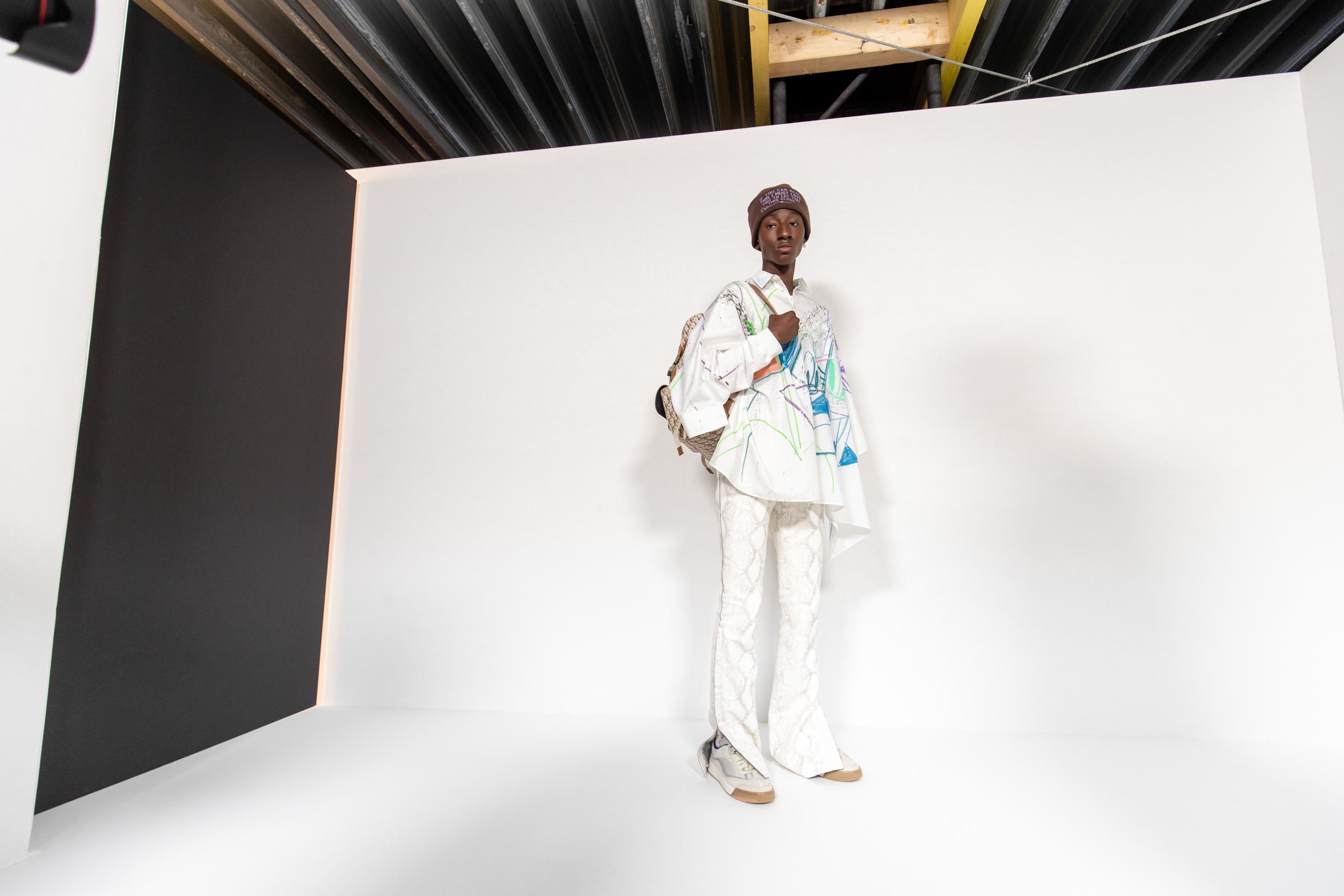 Dior Homme Spring 2022 Men's Backstage