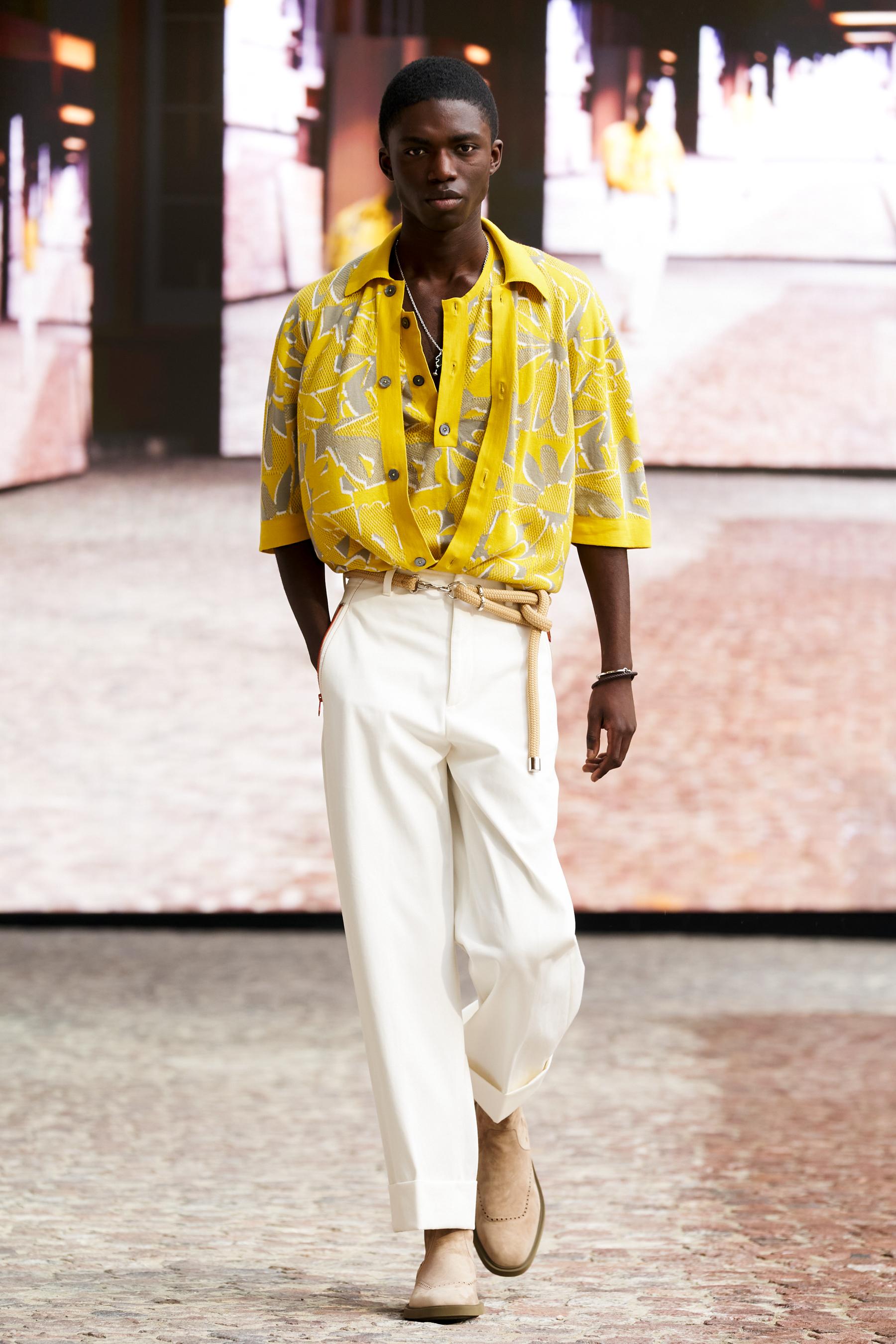 Hermes Full Lenght Spring 2022 Men's Fashion Show  The Impression