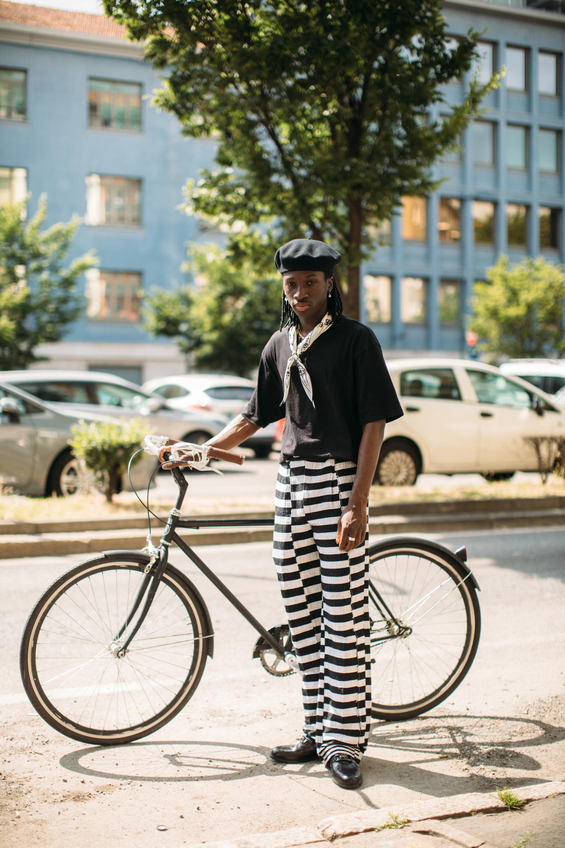 Milan Men's Street Style Spring 2022 Day 1