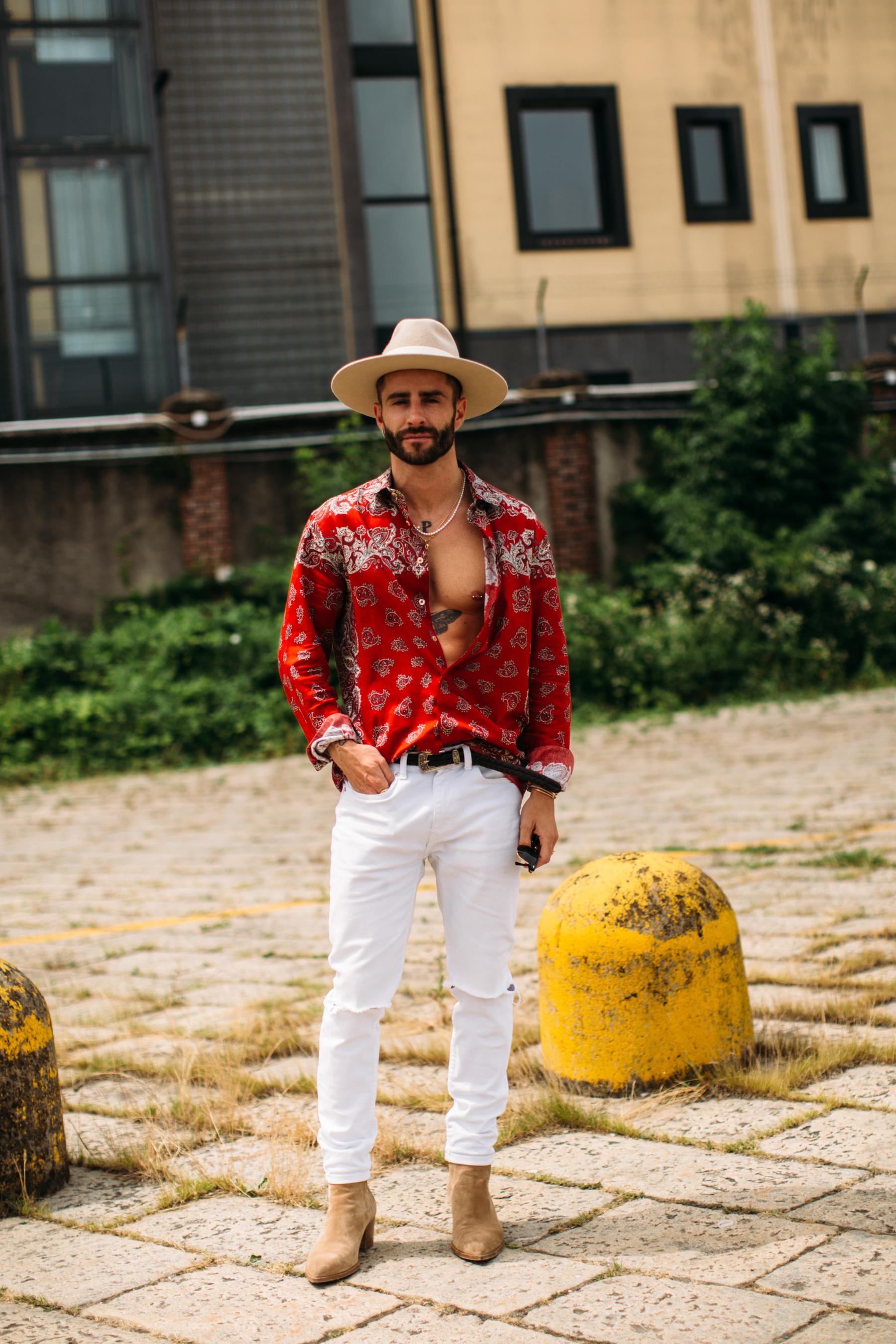 Milan Men's Street Style Spring 2022 Day 3