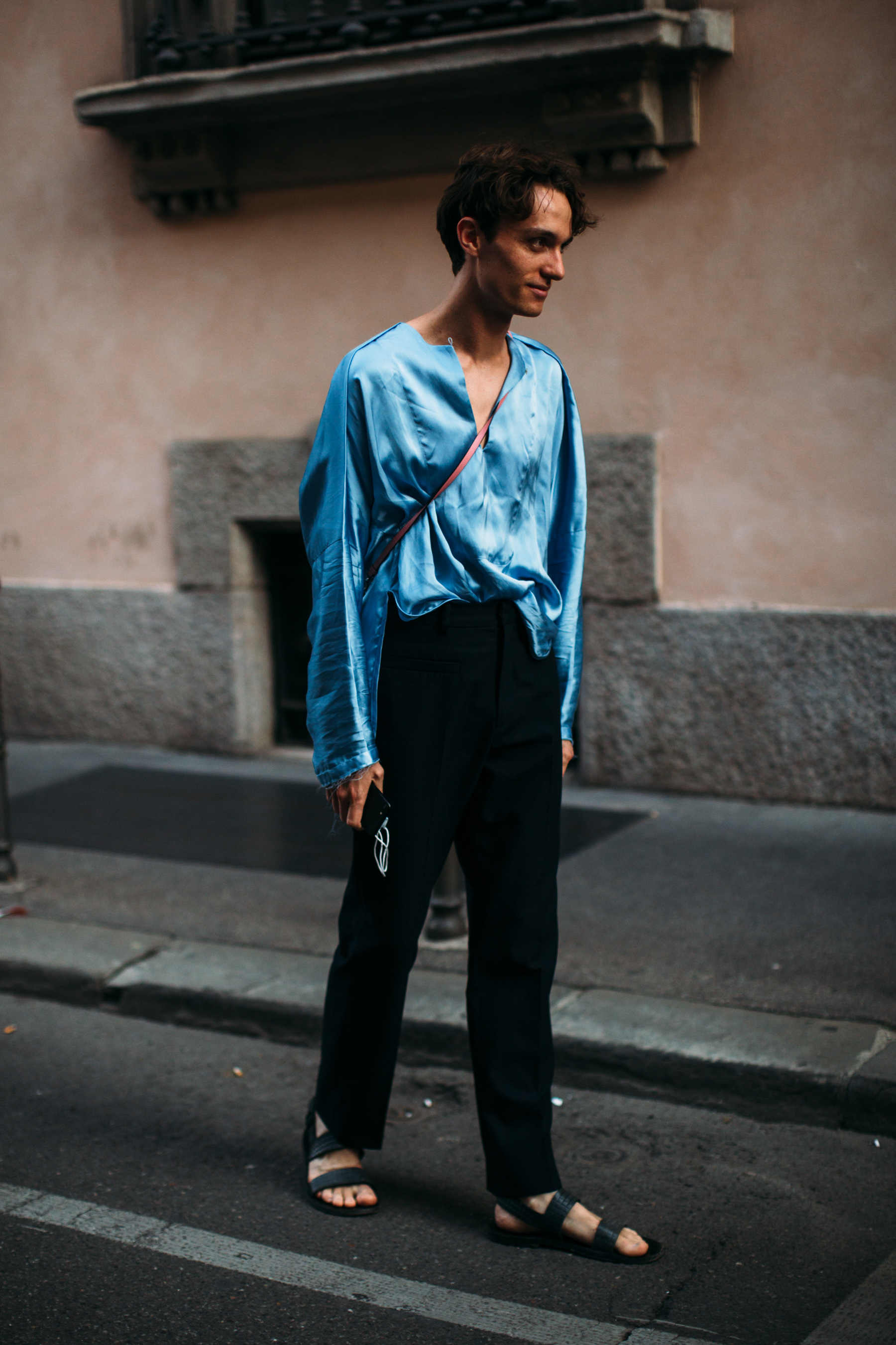 Milan Men's Street Style Spring 2022 Day 4