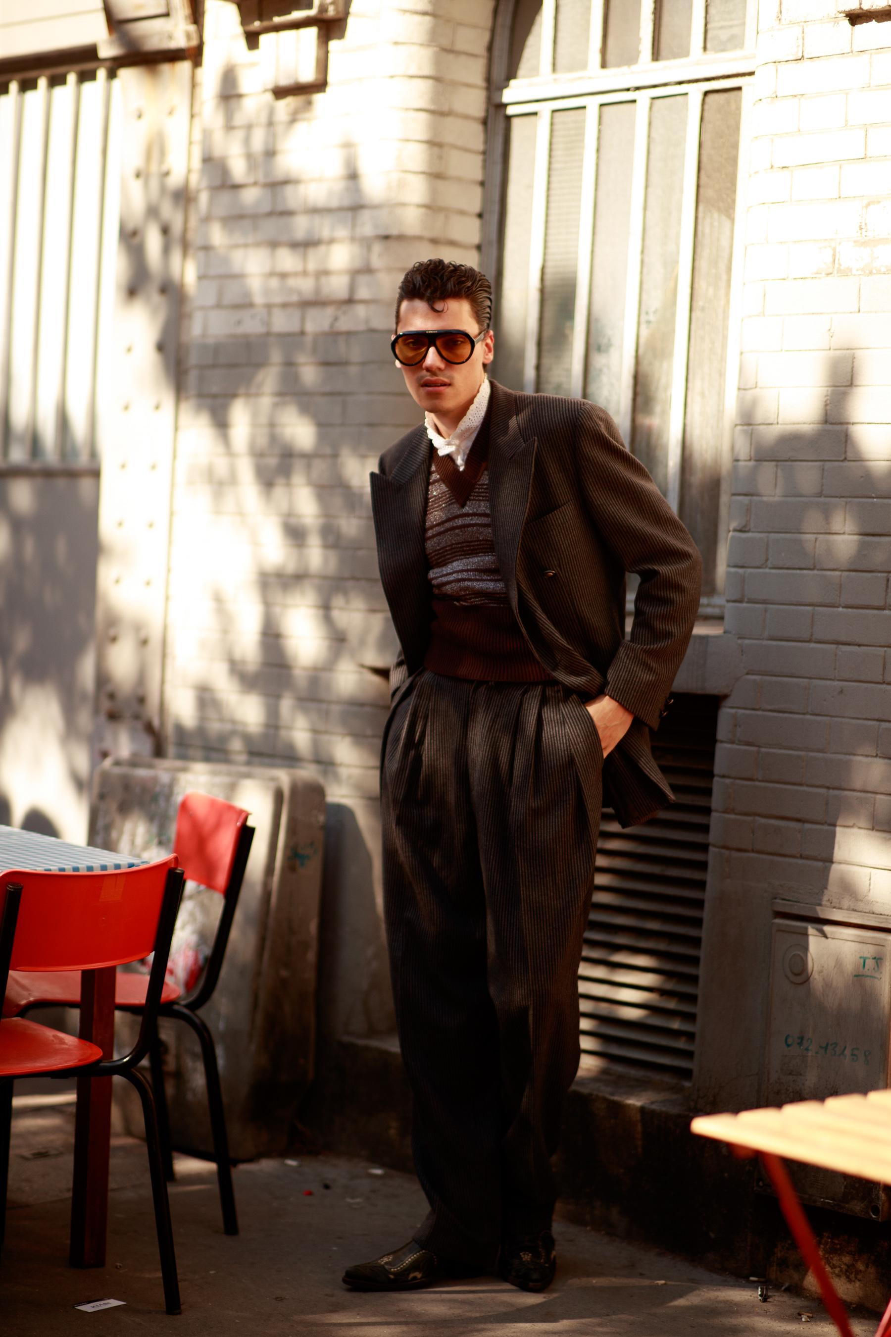 Paris Men's Street Style Spring 2022 Day 3